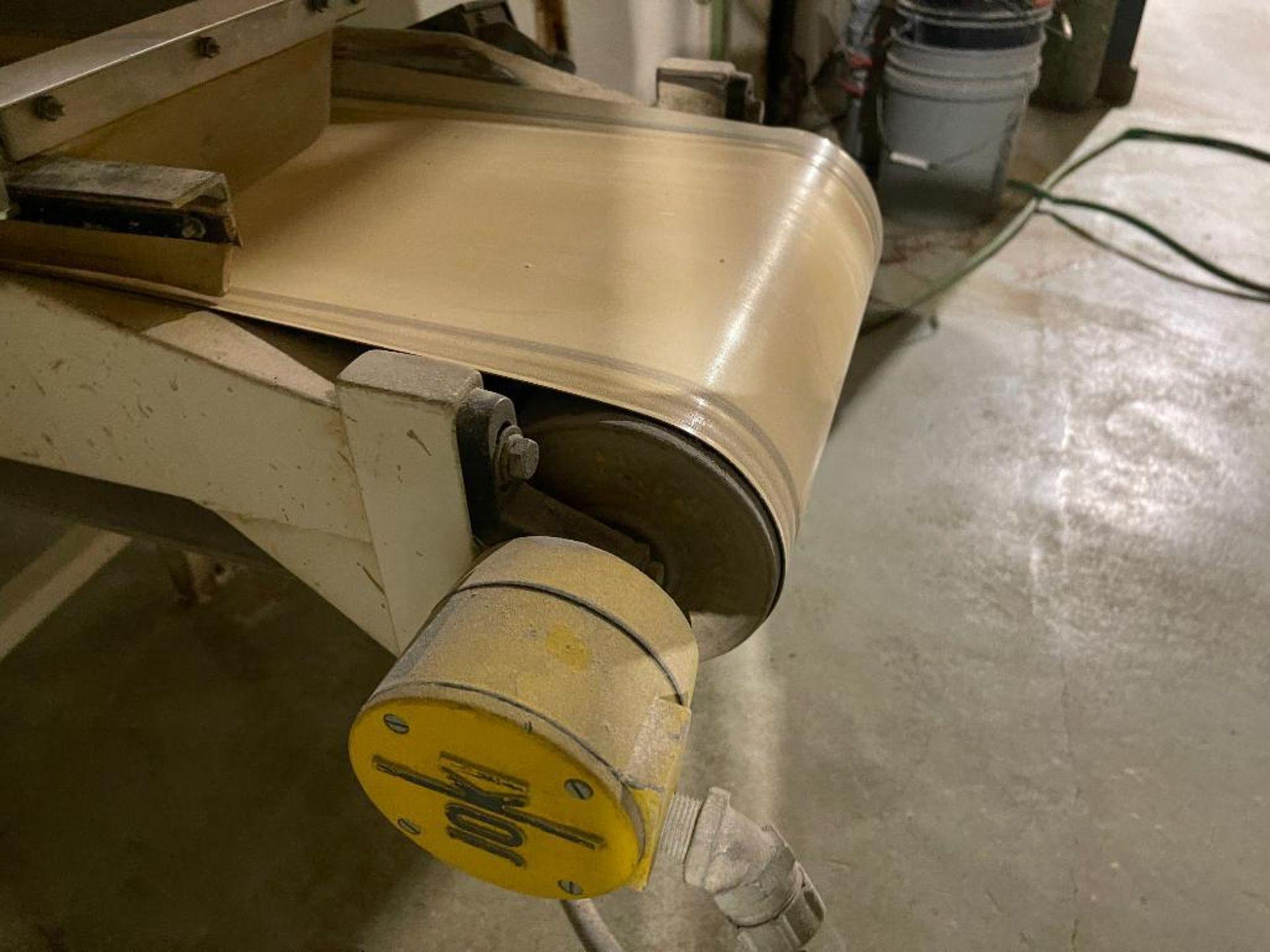 mild steel belt conveyor - Image 4 of 16
