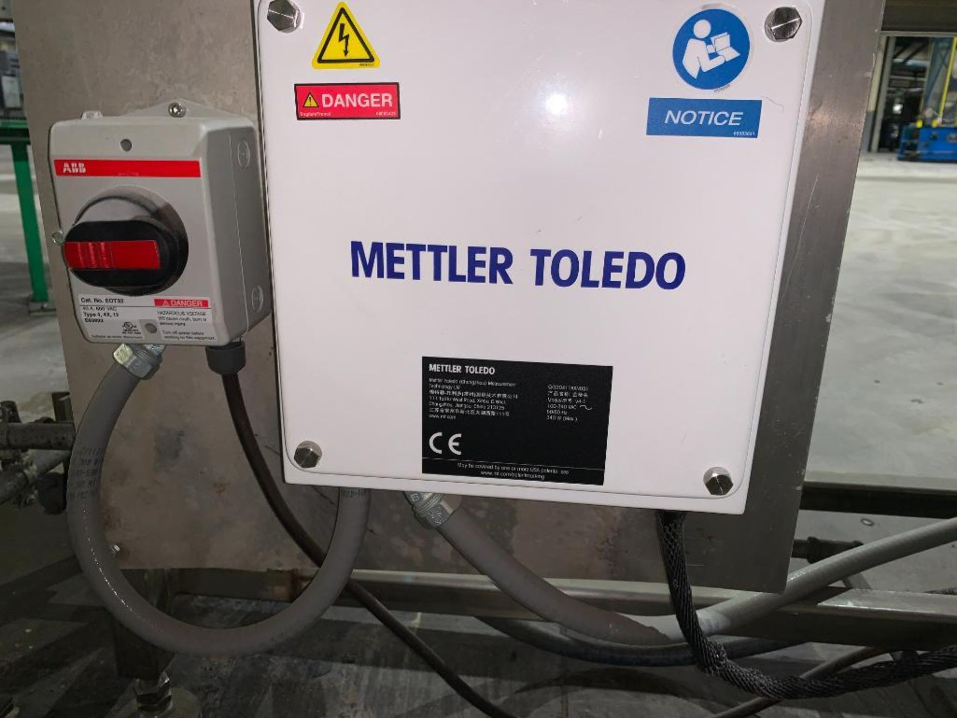 Mettler Toledo metal detector - Image 12 of 24