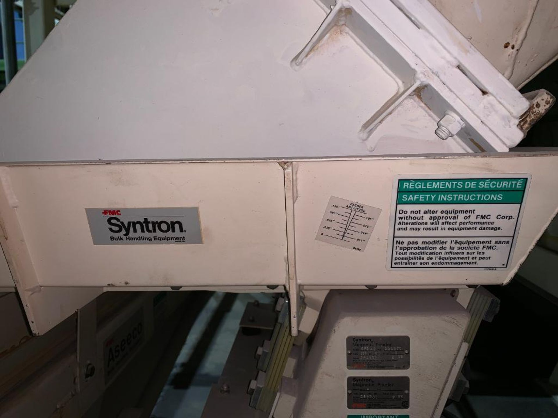 Aseeco mild steel cone bottom bulk storage bin - Image 21 of 22