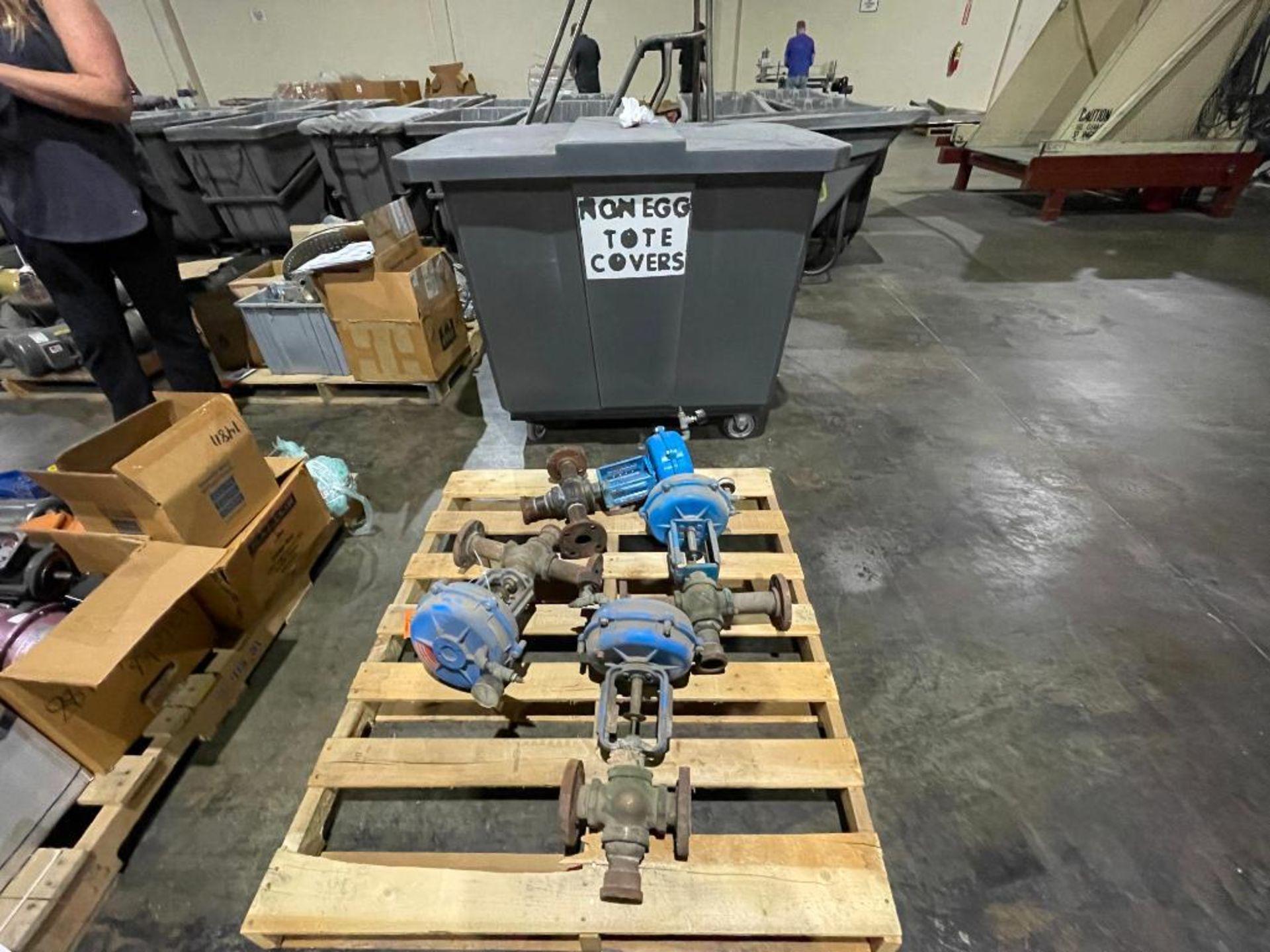 (4) steam valves