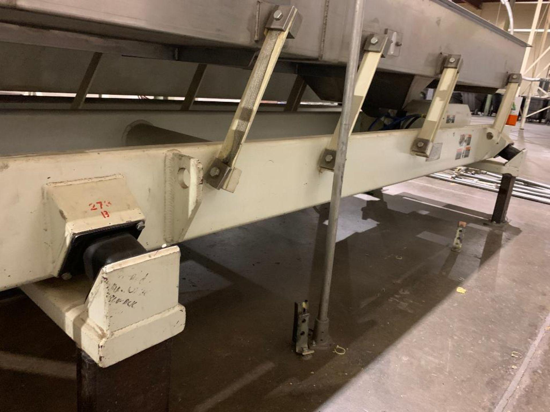 1992 Link-Belt vibratory conveyor, model LBL2405-10X12-10 - Image 12 of 34