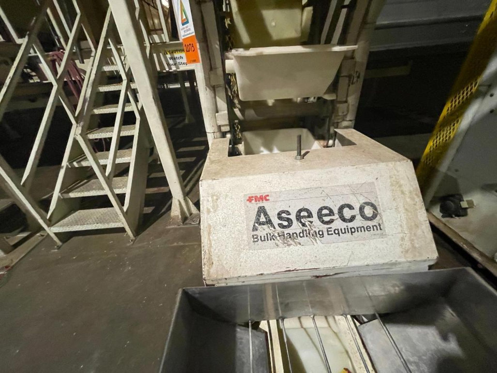 1992 Aseeco overlapping bucket incline conveyor, model ALH-0-12, Z-shape - Image 4 of 11