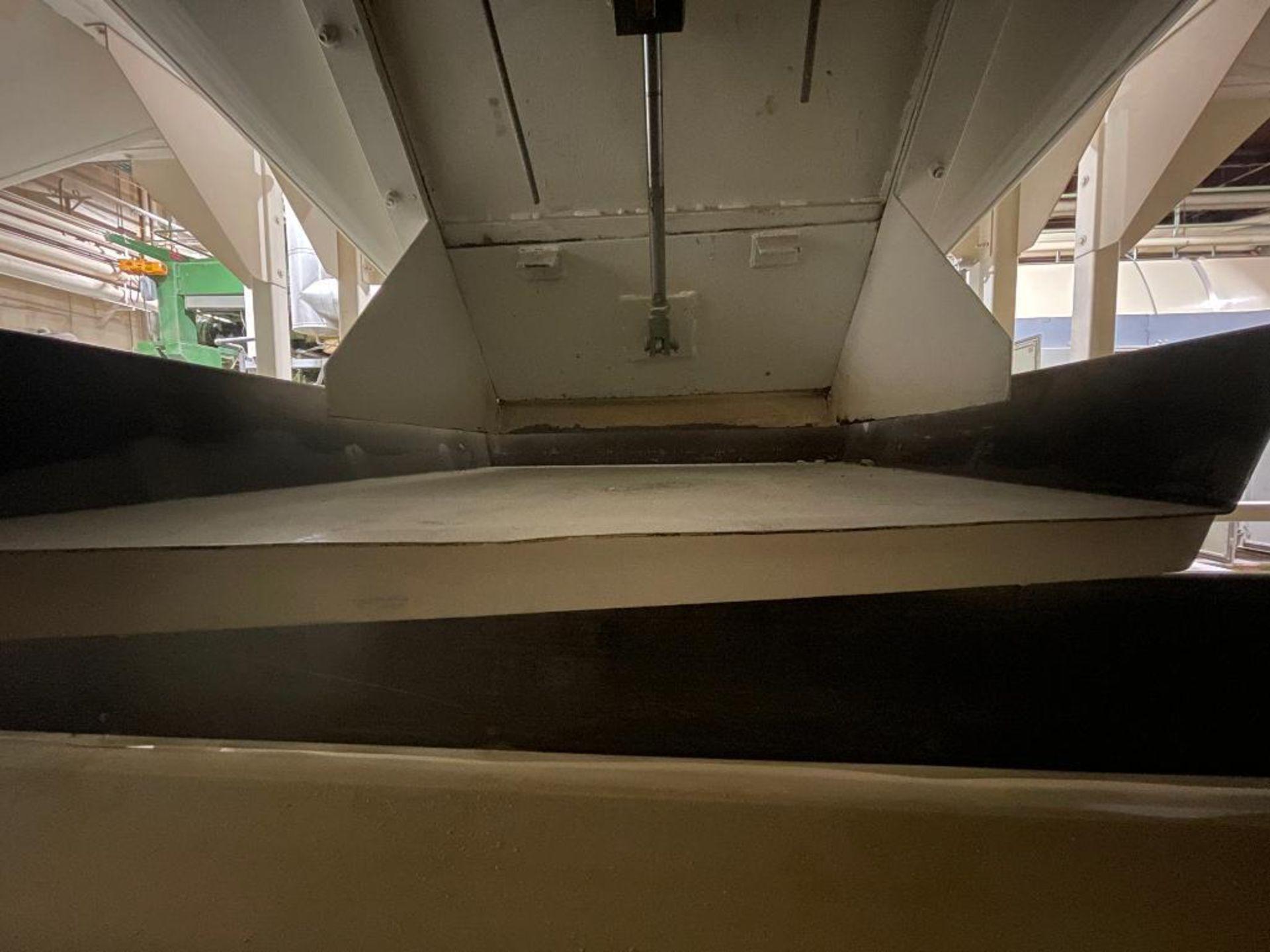 Aseeco mild steel cone bottom bulk storage bin - Image 19 of 31