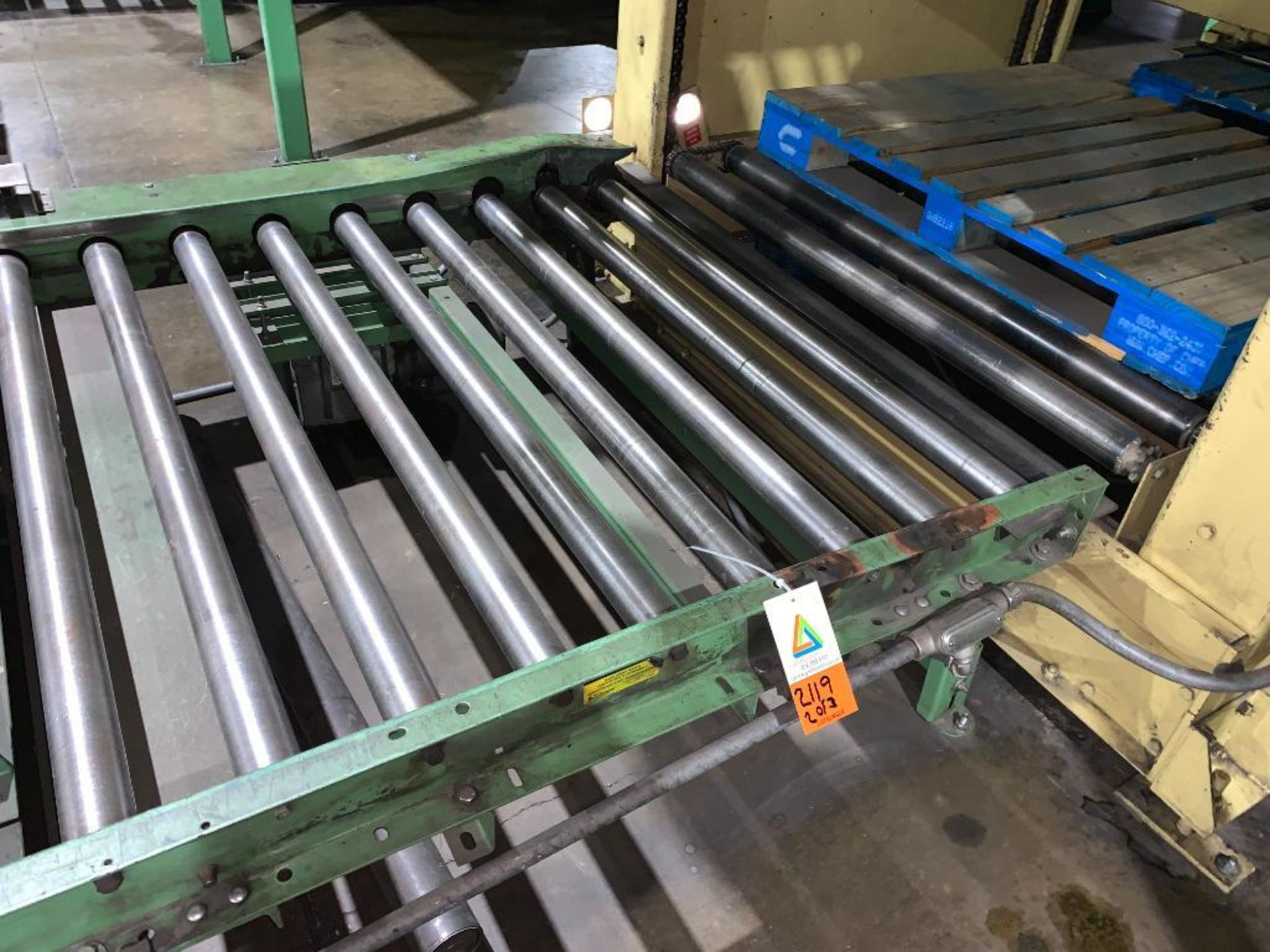1992 Currie top to bottom palletizer, machine number LSP-5-1177 - Image 34 of 53