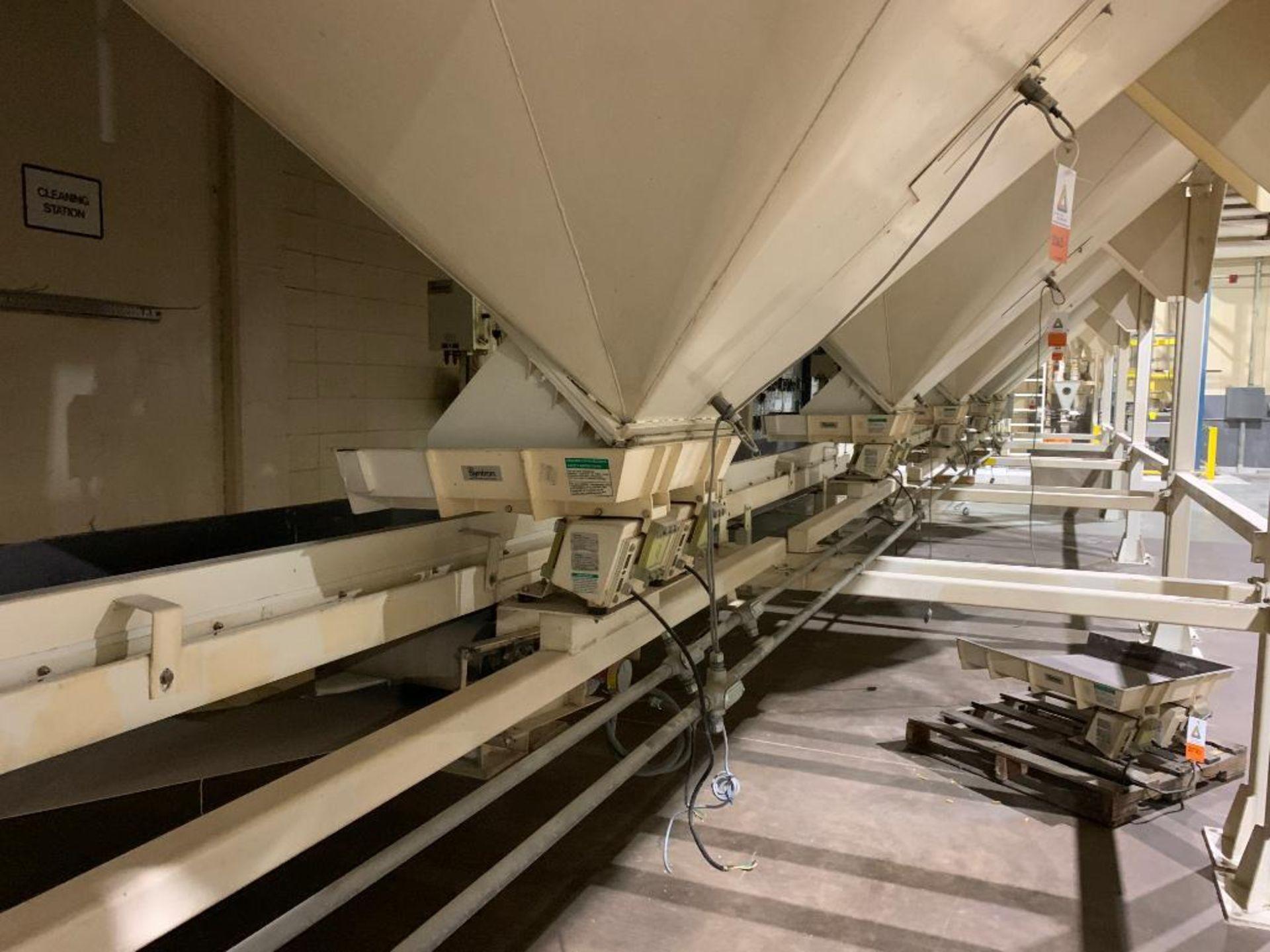 Aseeco mild steel cone bottom bulk storage bin - Image 16 of 27