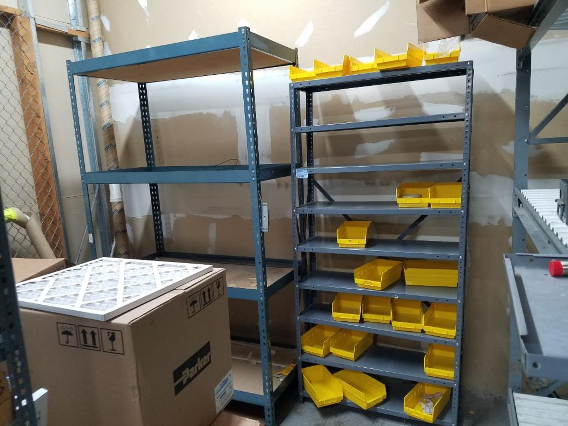 all shelving and storage units located in MRO room - Image 5 of 11