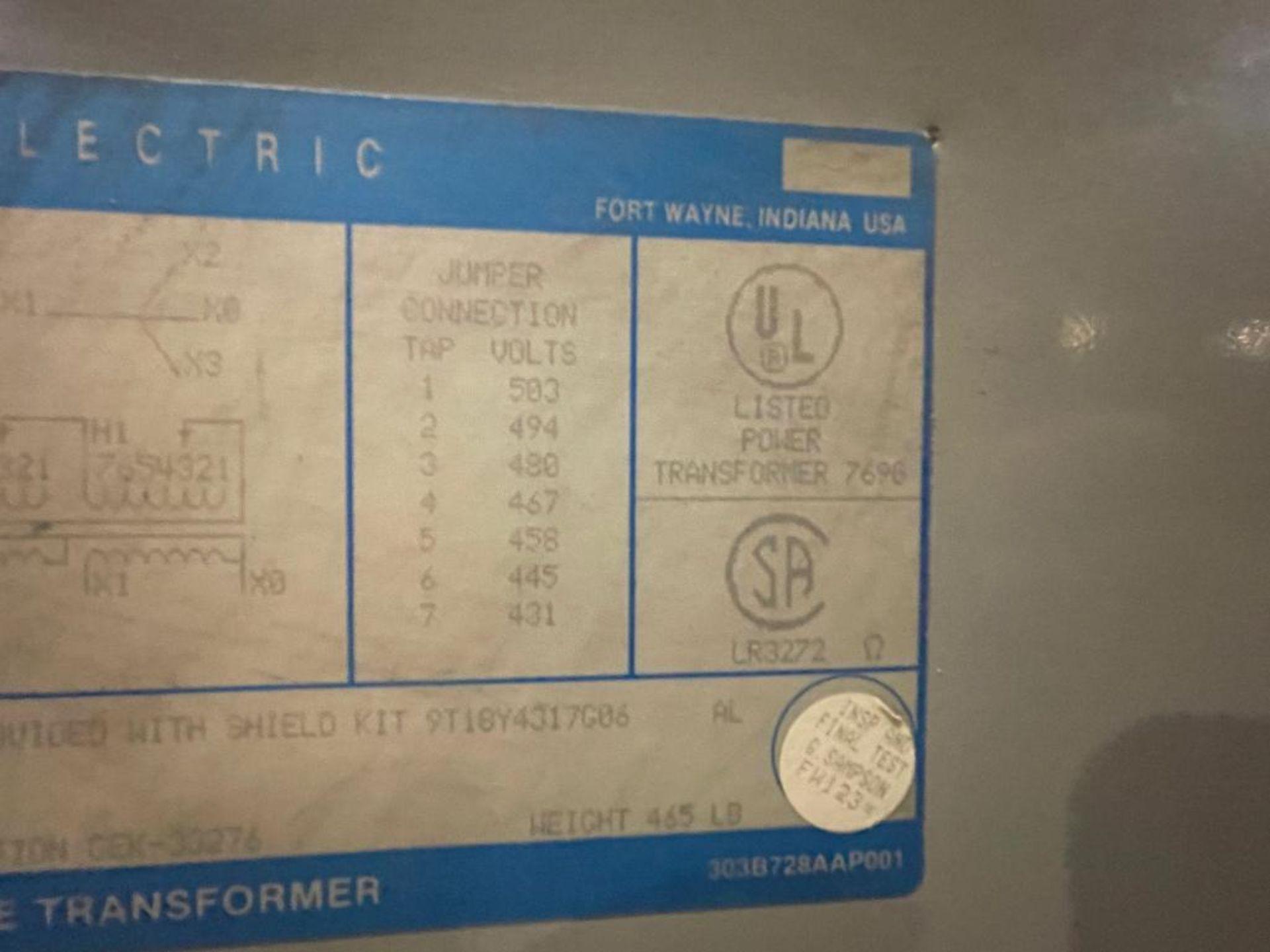 transformer, 75kVA - Image 5 of 9