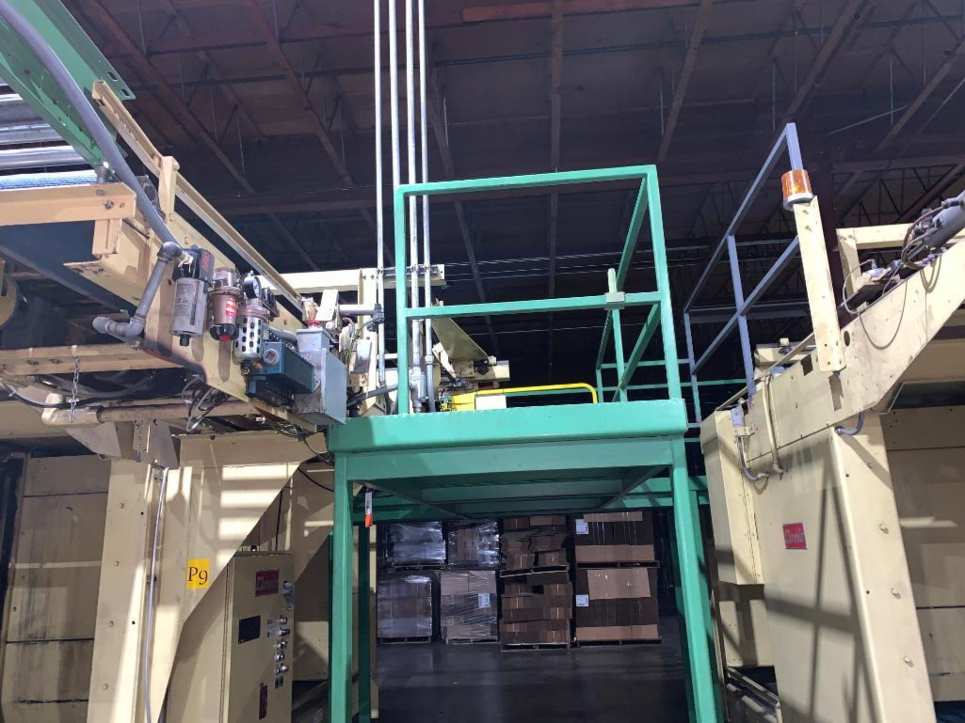 1992 Currie top to bottom palletizer, machine number LSP-5-1175 - Image 2 of 54