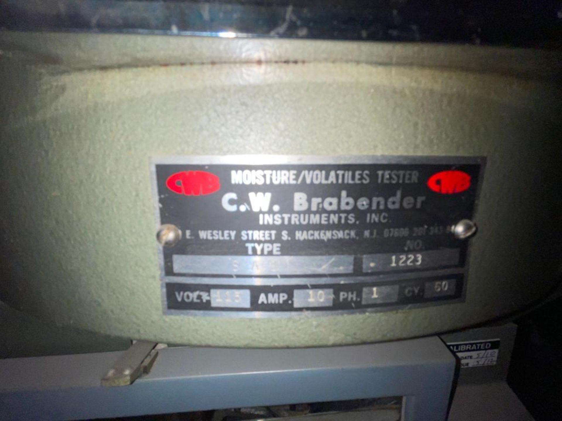 C.W. Brabender moisture tester - Image 2 of 9