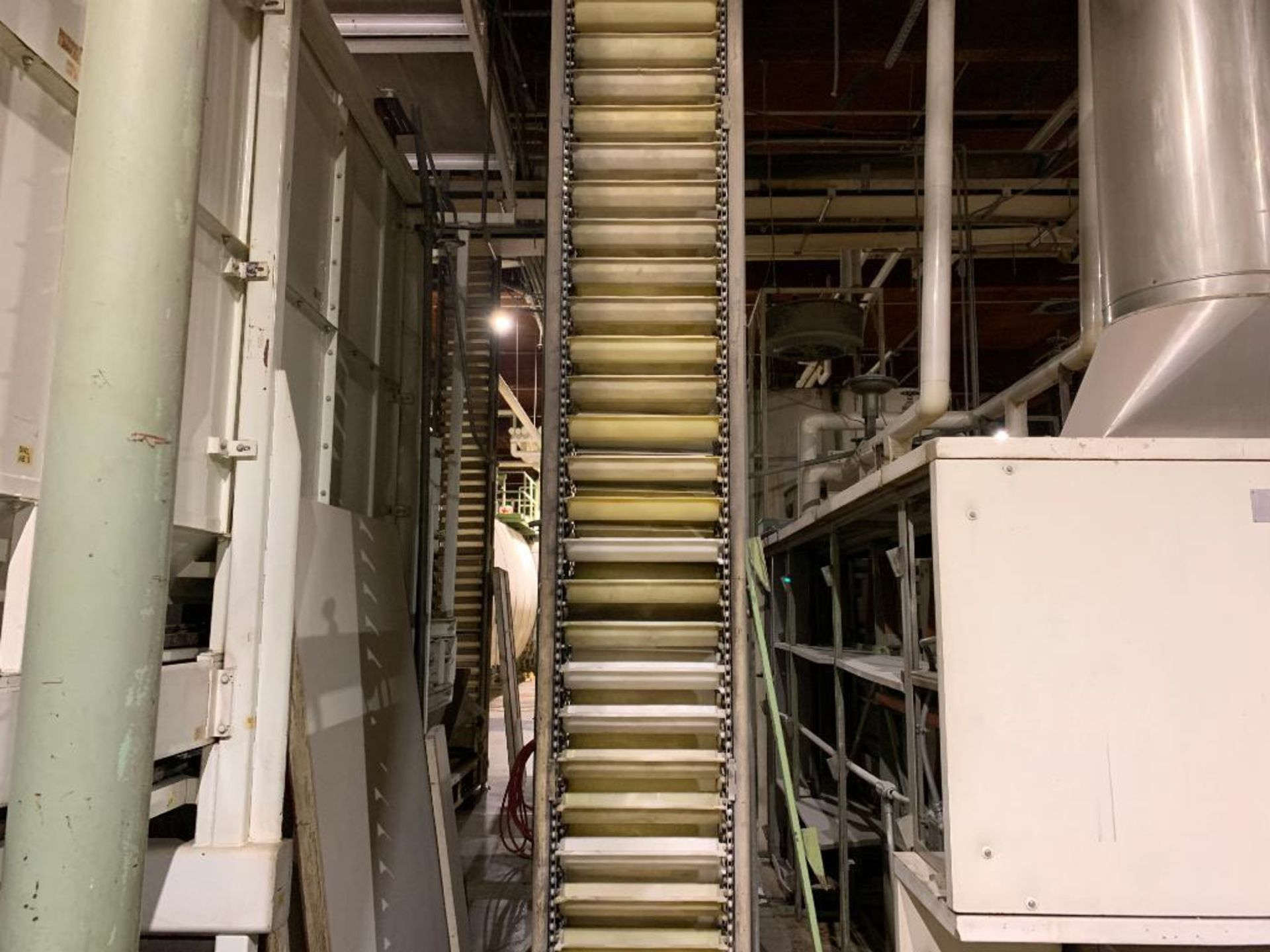 Aseeco overlapping bucket elevator, model ALS-0-18-CP - Image 3 of 12