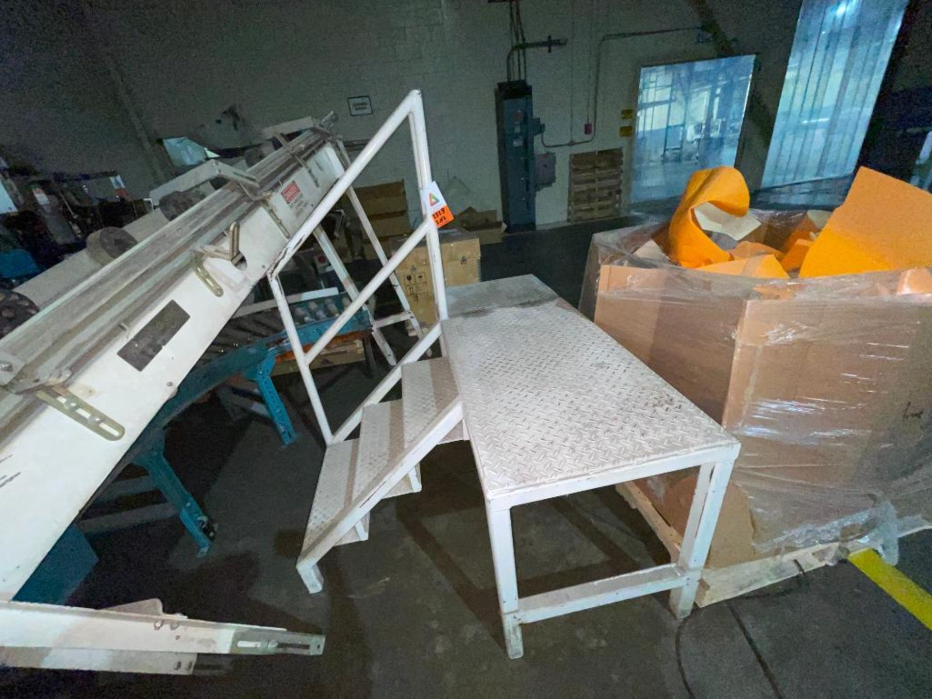 (2) mild steel platforms - Image 4 of 6