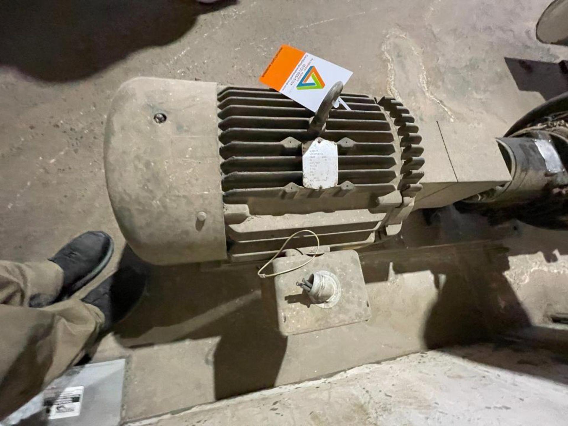 Ingersoll Dresser high temperature water pump - Image 6 of 9