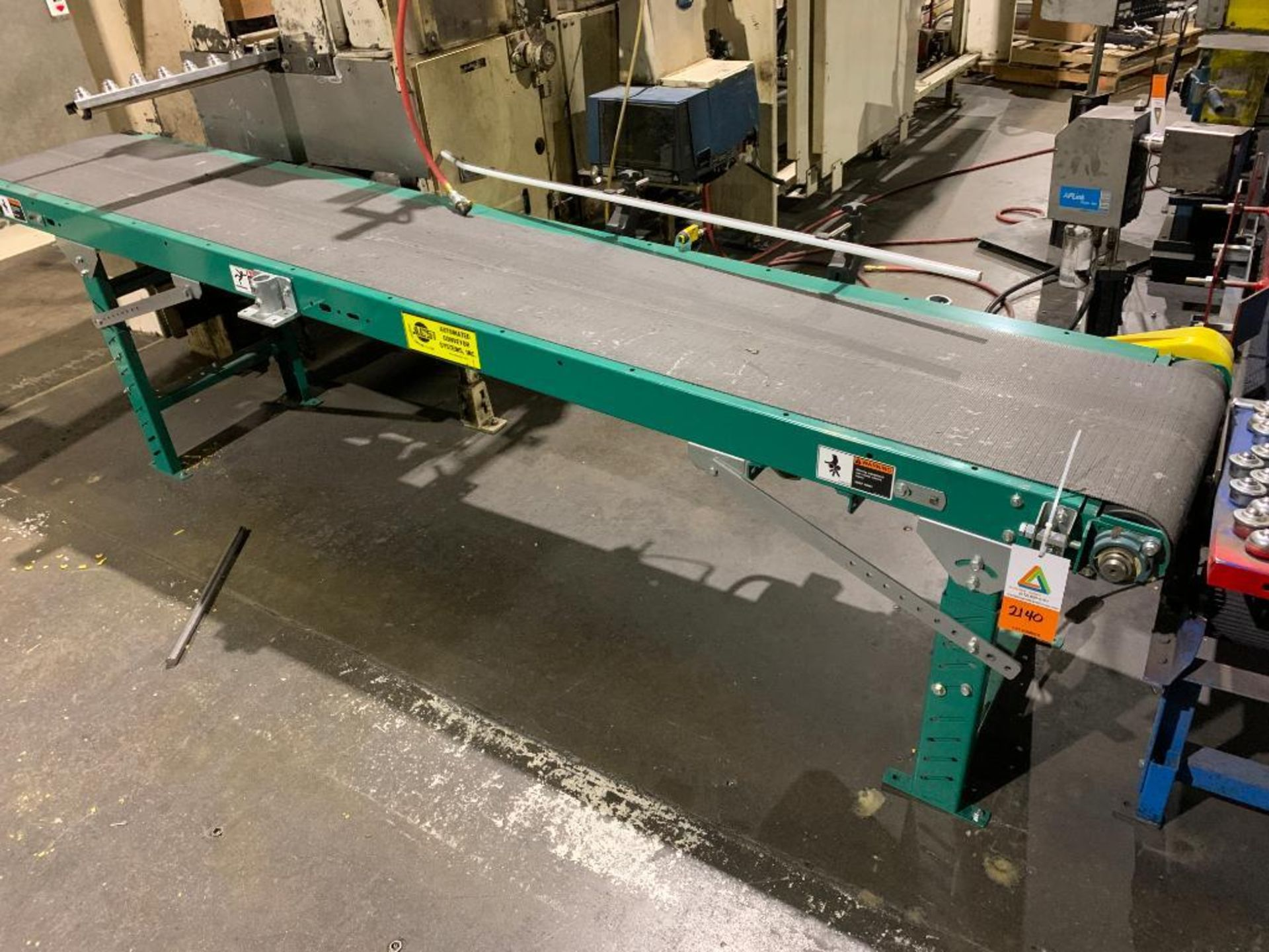 Automated Conveyor Systems mild steel conveyor
