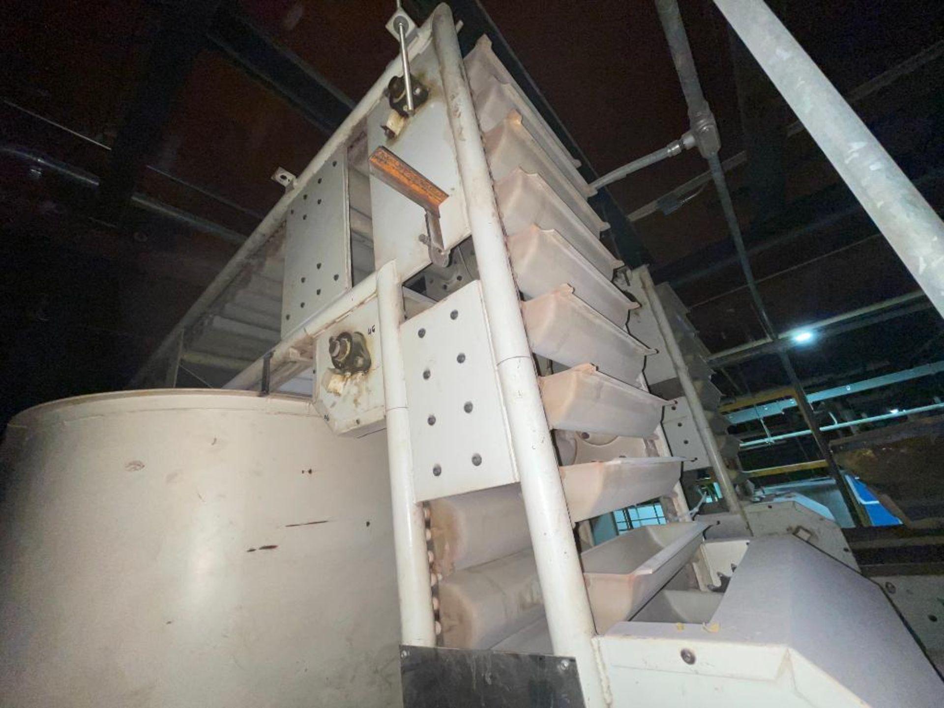 Aseeco horizontal overlapping bucket elevator - Image 8 of 10