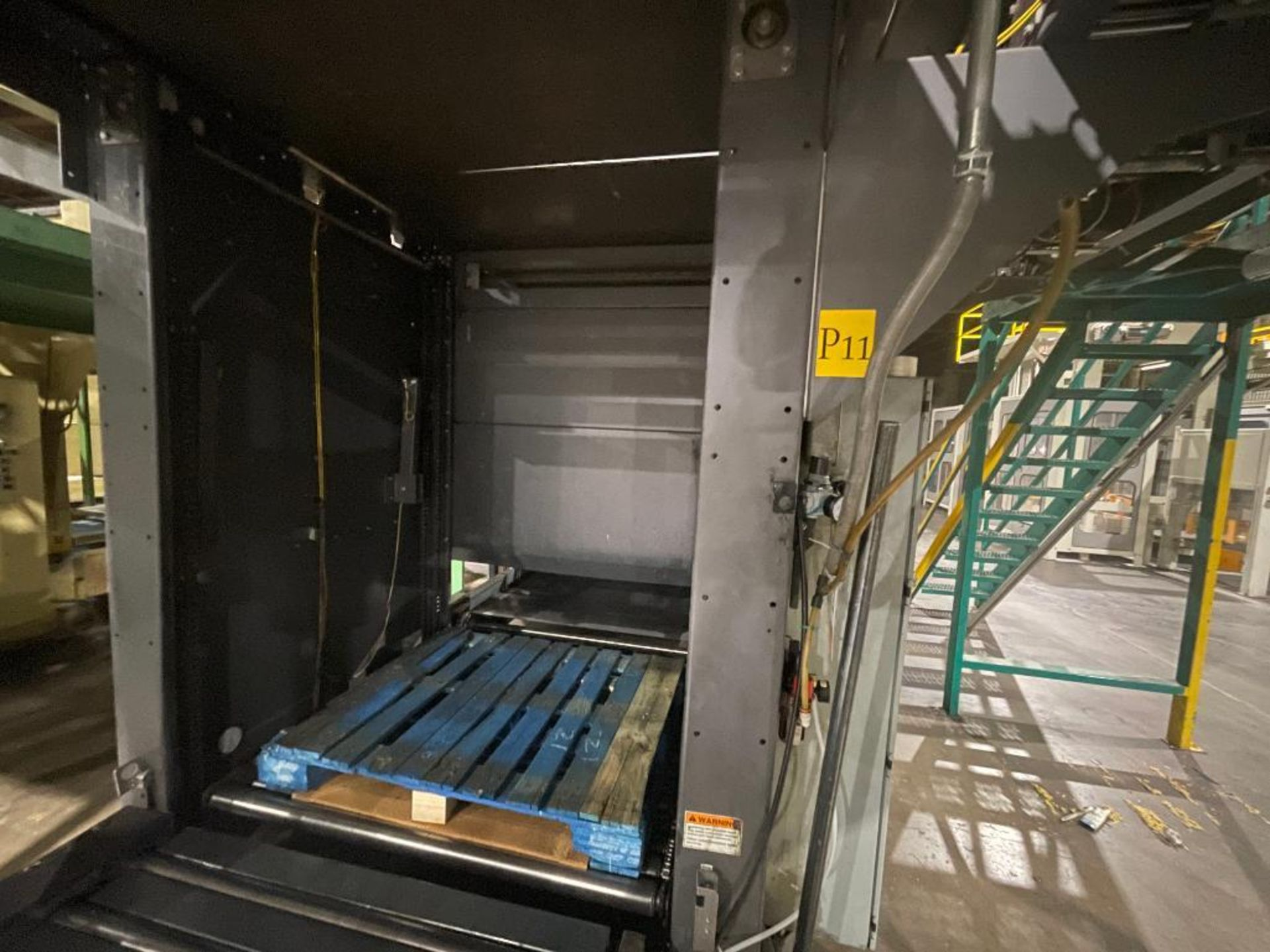 2008 Currie top to bottom palletizer, model PALLETIZER, sn 3348 - Image 15 of 28
