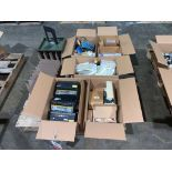 pallet of electrical switches