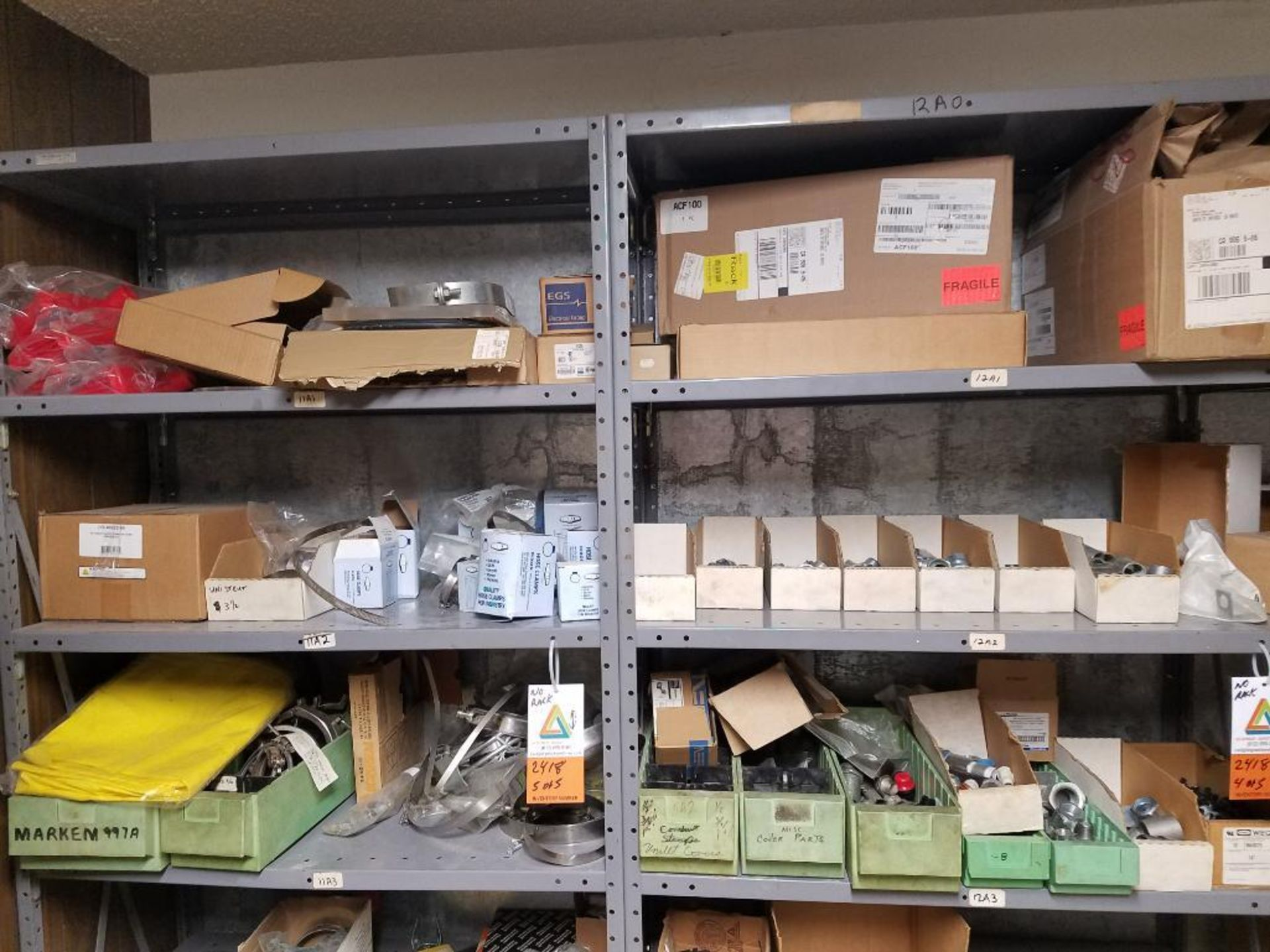 various replacement parts, cables, sensors, belts, clamps - Image 3 of 11