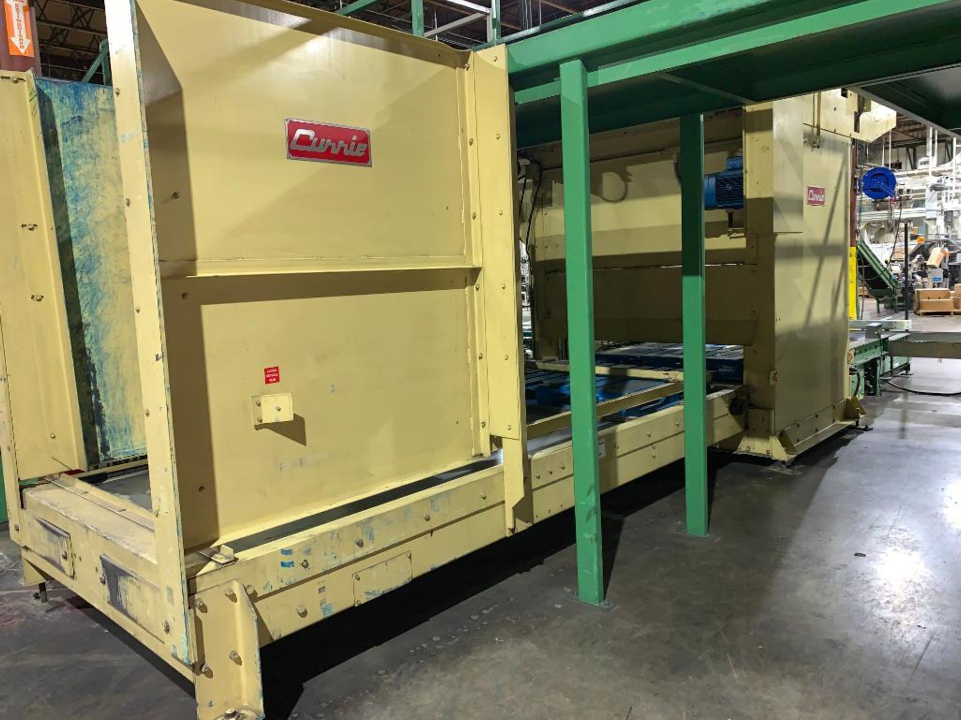 1992 Currie top to bottom palletizer, machine number LSP-5-1176 - Image 4 of 56