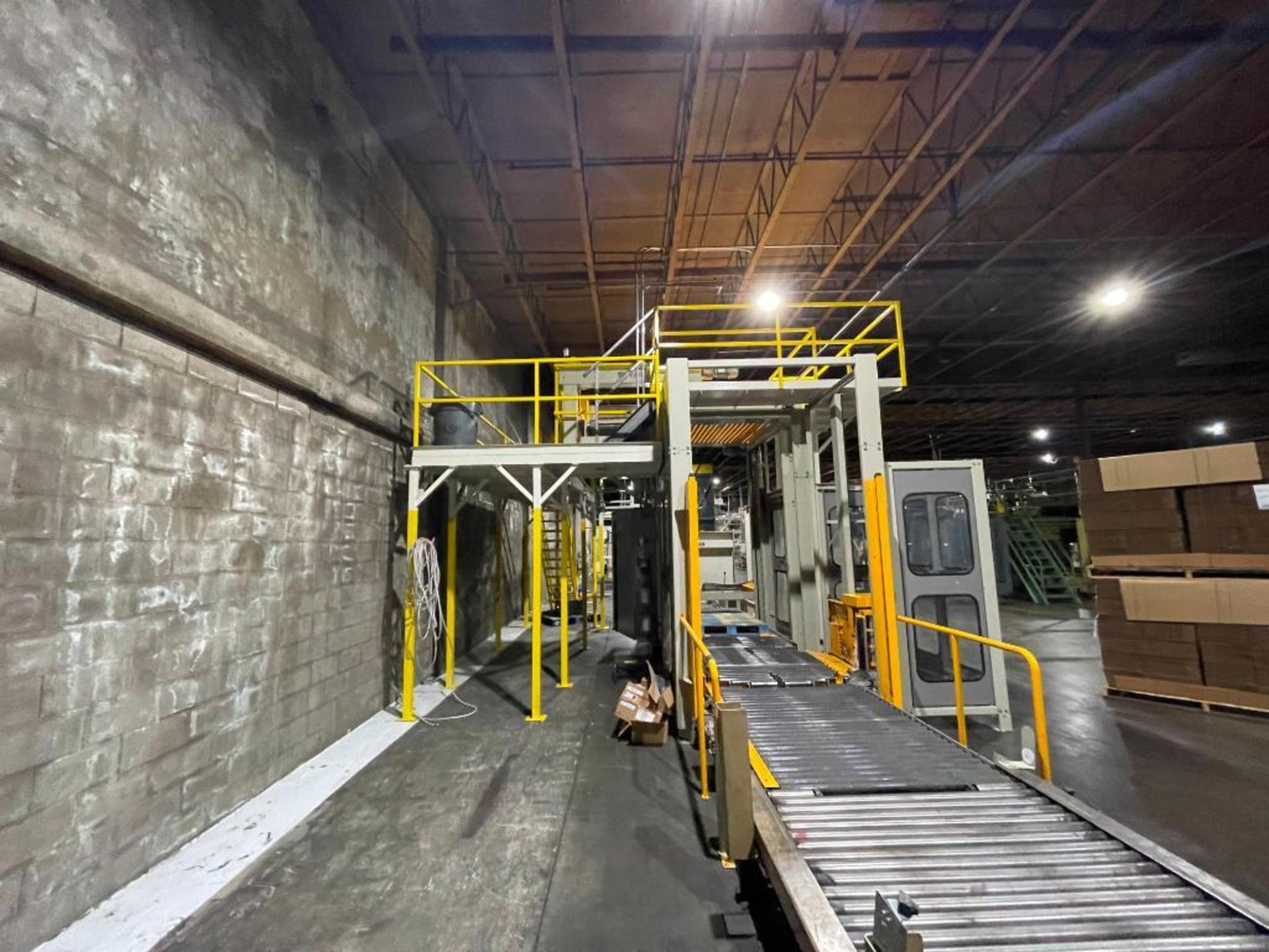 2013 TopTier downstacker, model DS with integrated TopTier pallet wrapper - Image 6 of 66