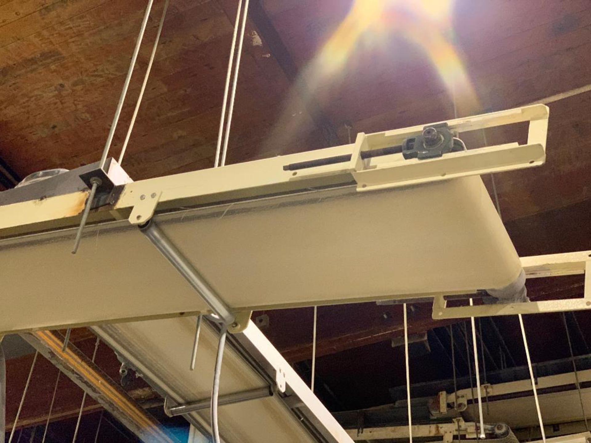 Aseeco mild steel decline conveyor - Image 2 of 12
