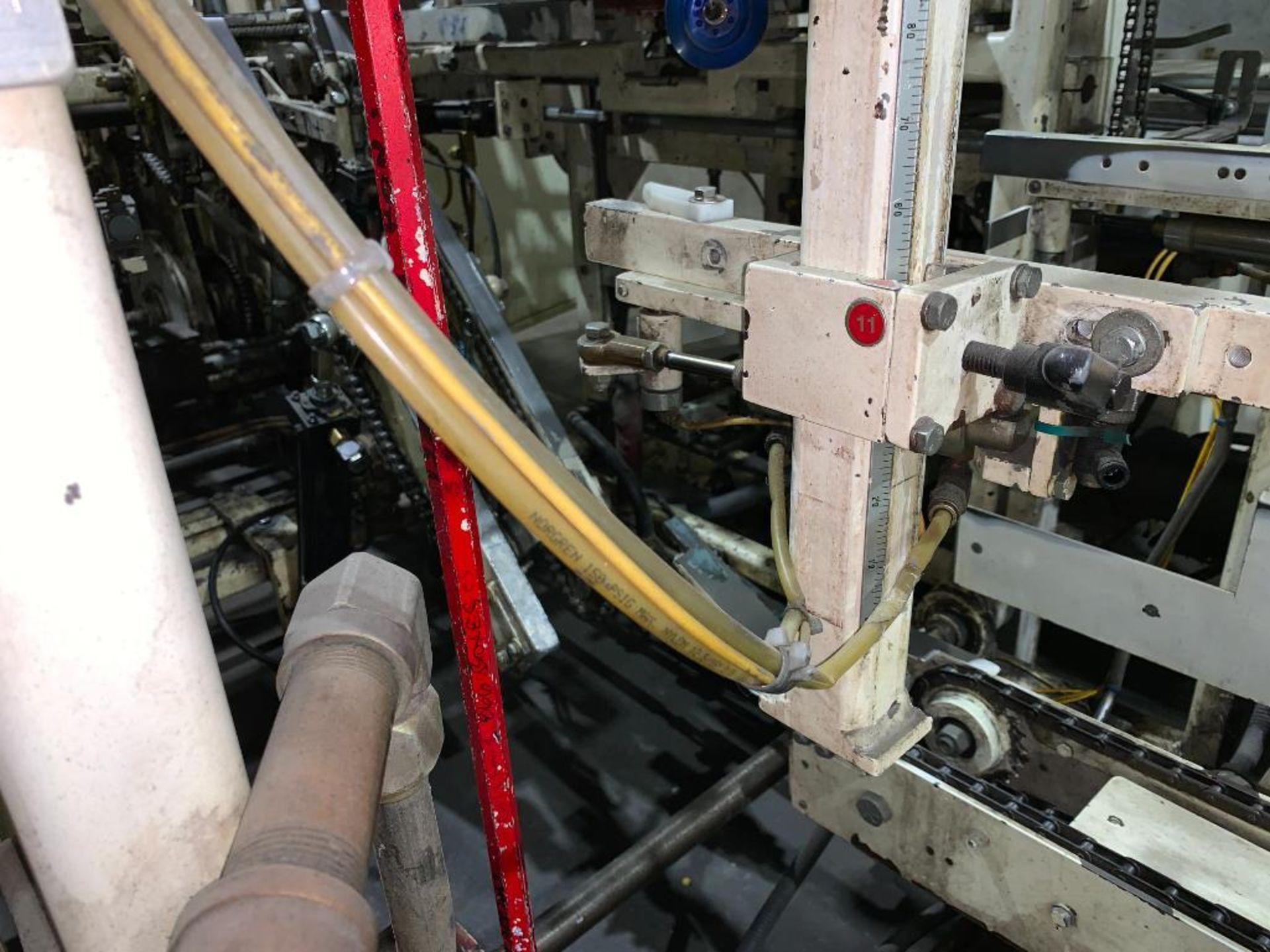 Salwasser case erector and case packer, model L41 - Image 8 of 45