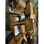 pallet of miscellaneous electronics