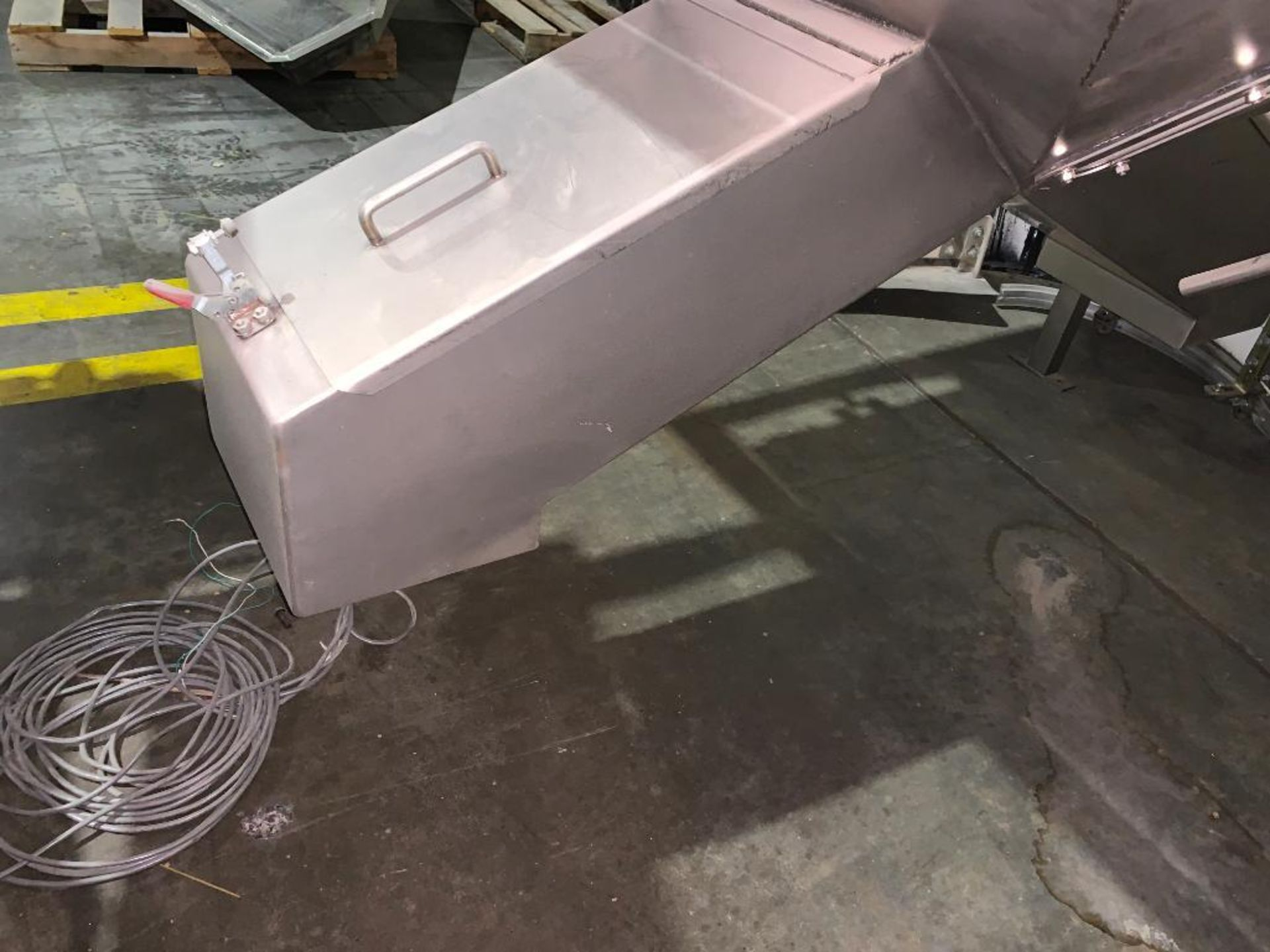 stainless steel dual chute hopper - Image 5 of 7