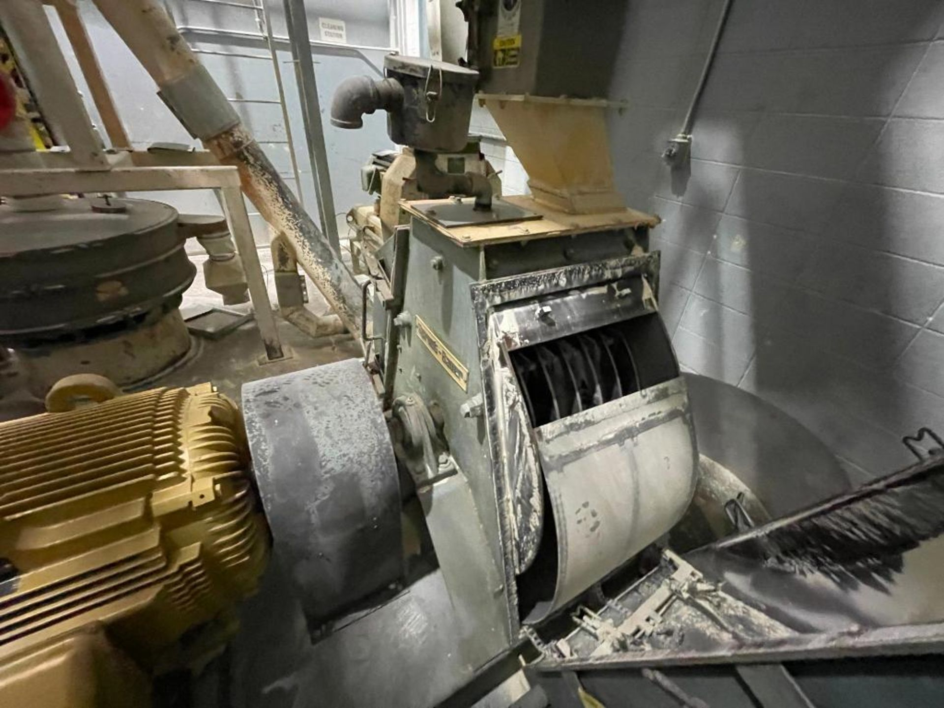 Sprout-Bauer hammermill, 100 hp - Image 8 of 25