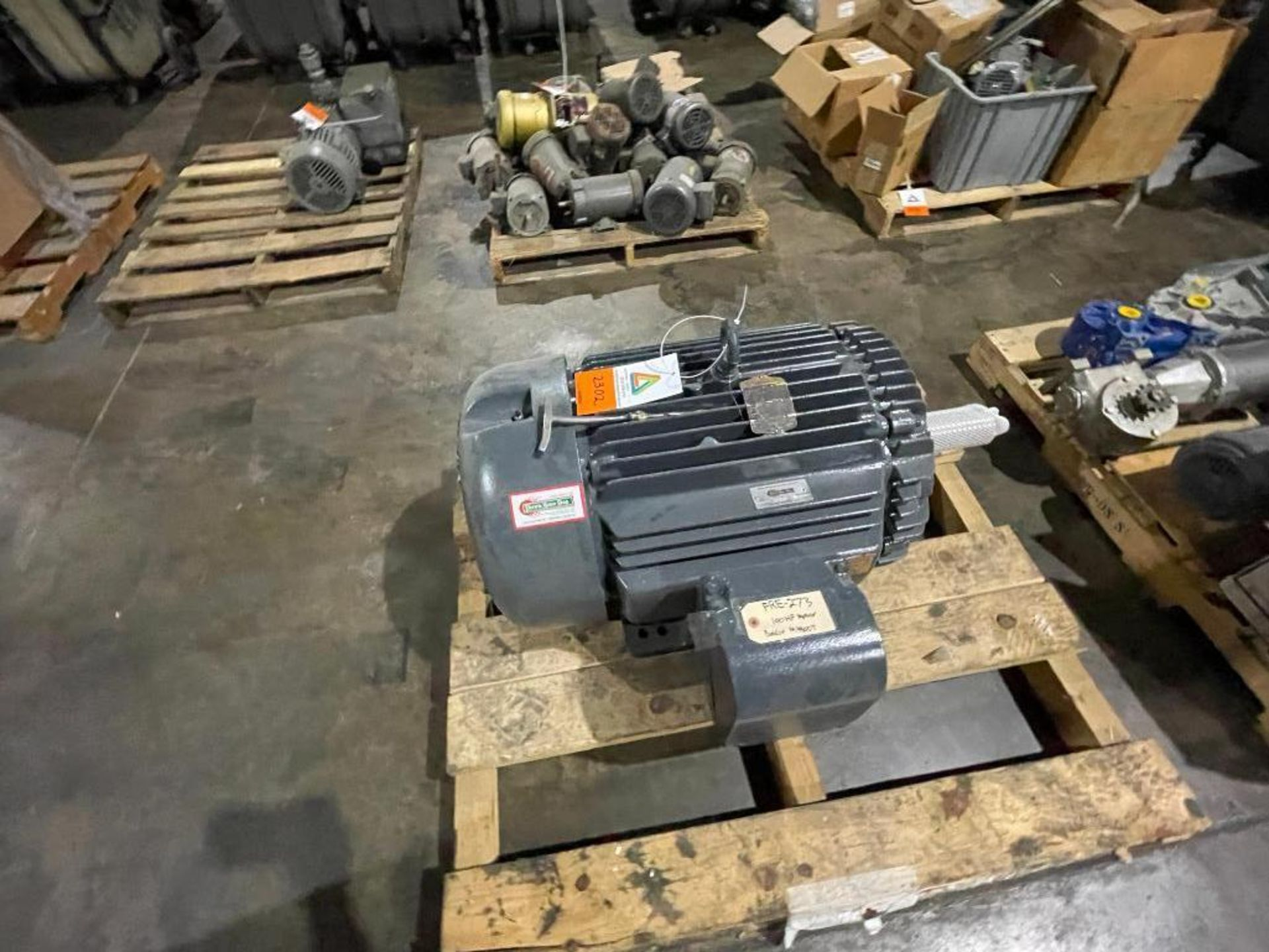 electric motor, 100 hp - Image 6 of 9