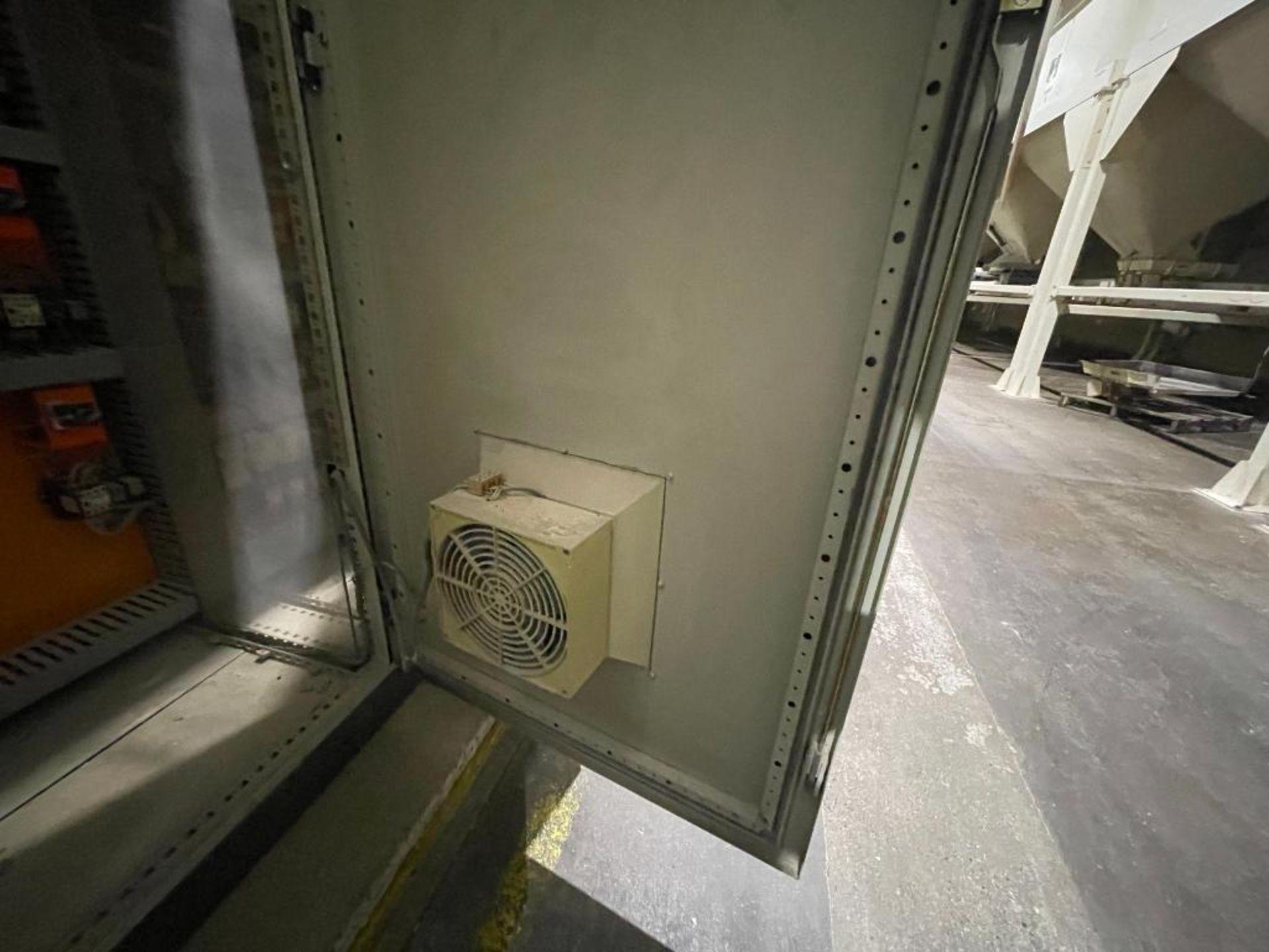7-door mild steel air conditioned control cabinet, 5-VFD's - Image 16 of 43