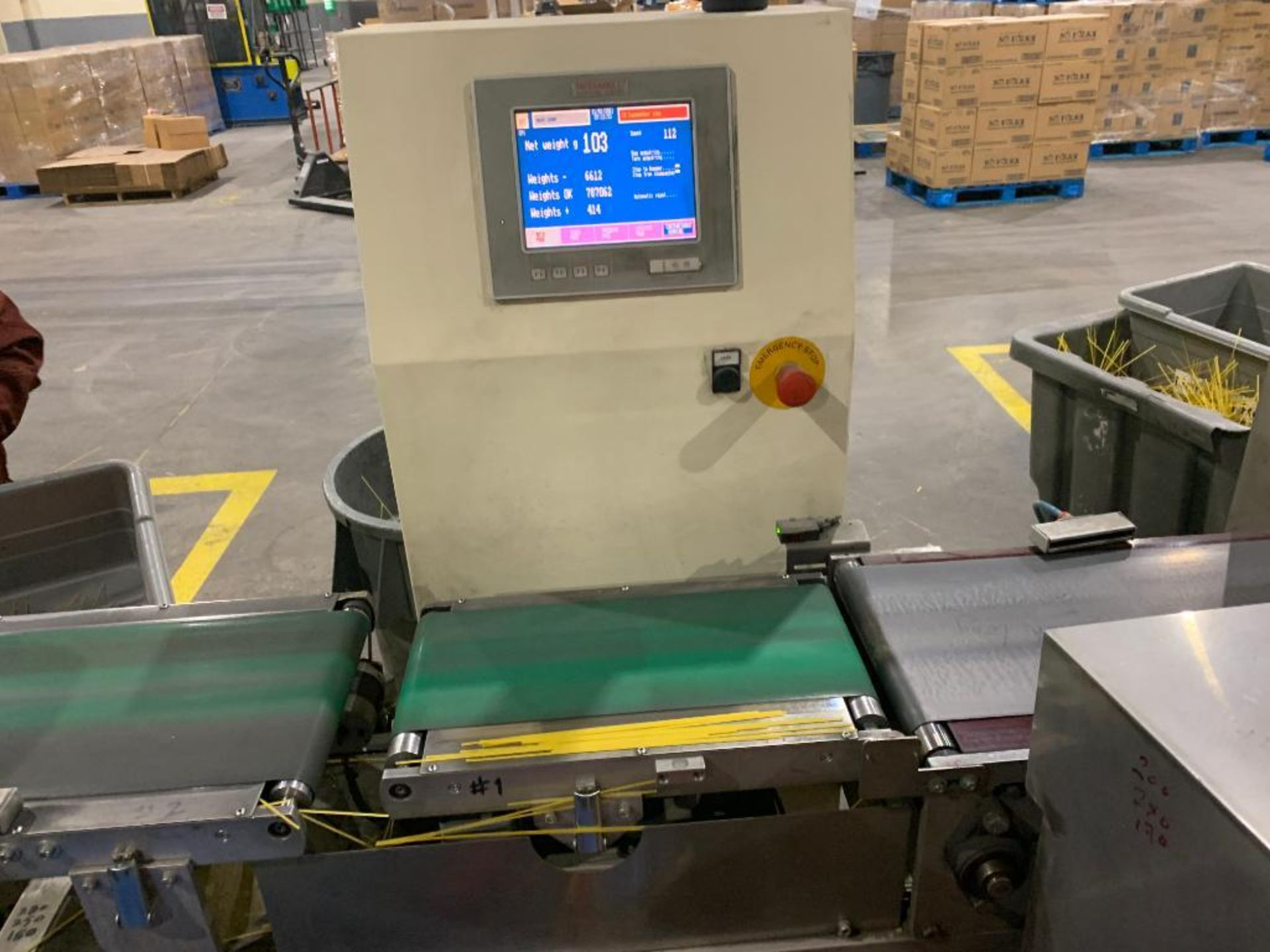 Ricciarelli high speed check weigher - Image 10 of 12