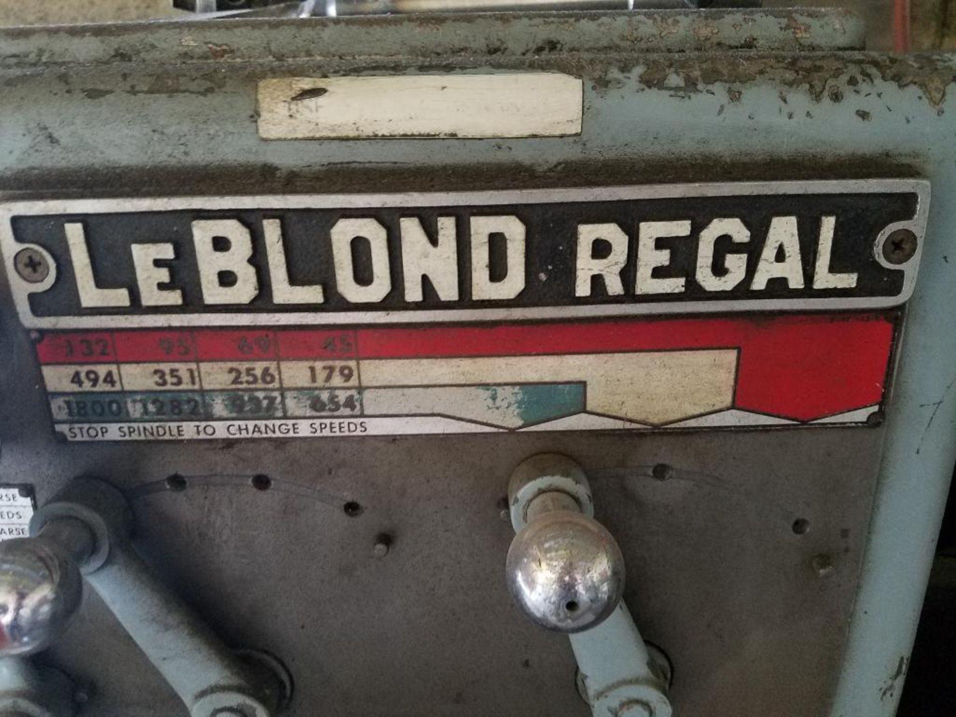 LeBlond Regal lathe - Image 2 of 10