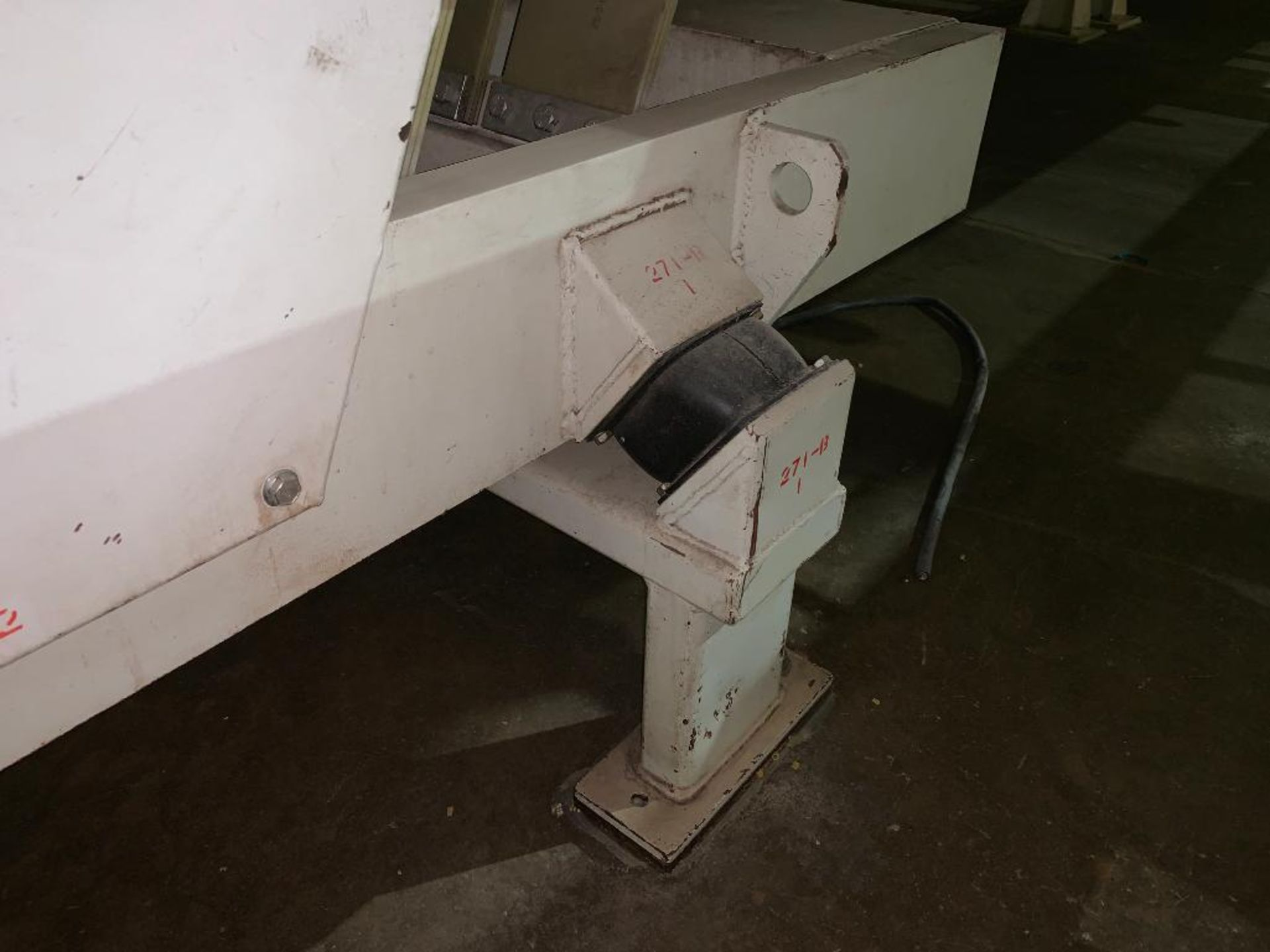 1993 Link-Belt stainless steel vibratory scalping conveyor - Image 7 of 10
