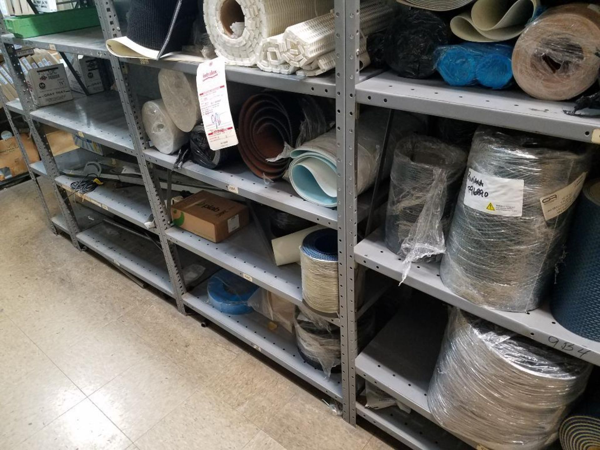 various conveyor belts, and replacement parts - Image 8 of 8