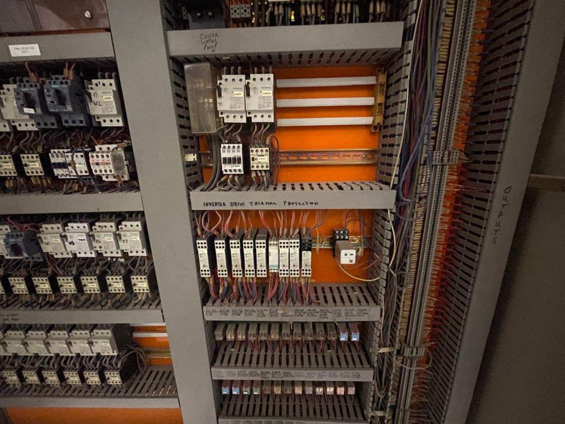 7-door mild steel air conditioned control cabinet, 5-VFD's - Image 41 of 43