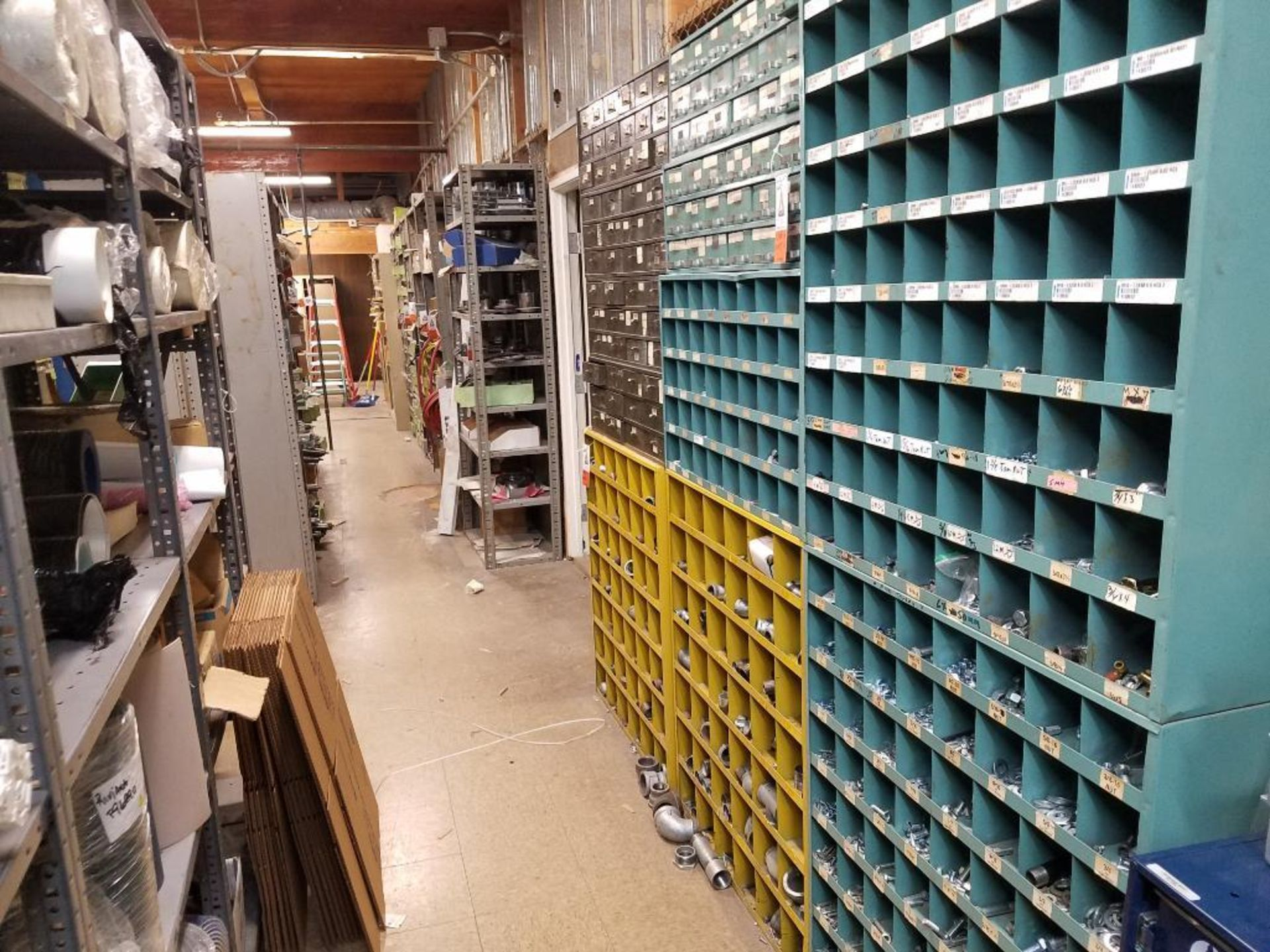 all shelving and storage units located in MRO room - Image 8 of 11