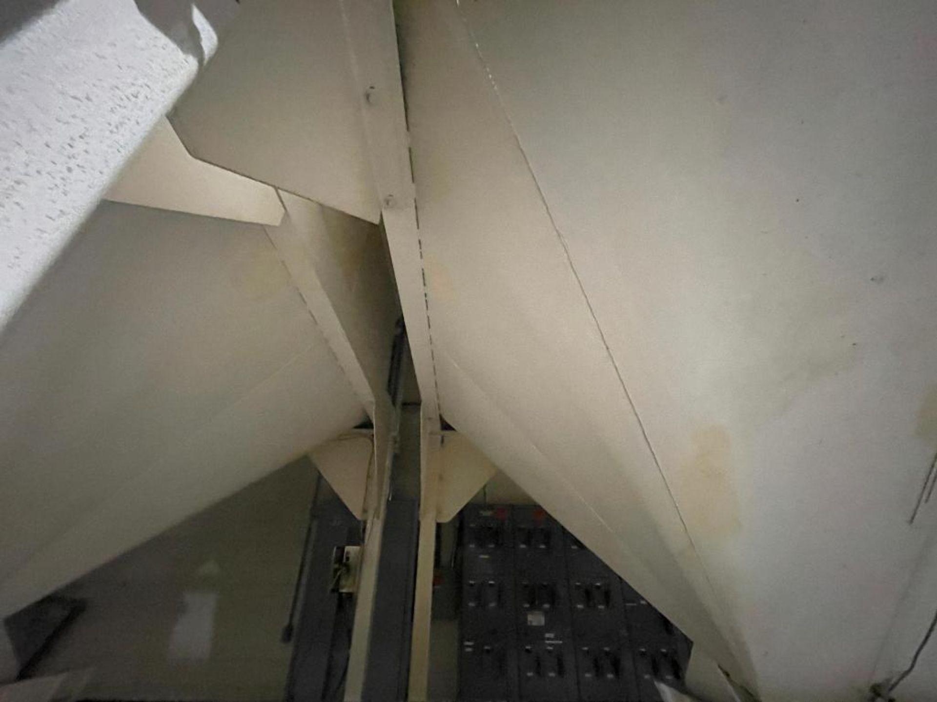 Aseeco mild steel cone bottom bulk storage bin - Image 9 of 31