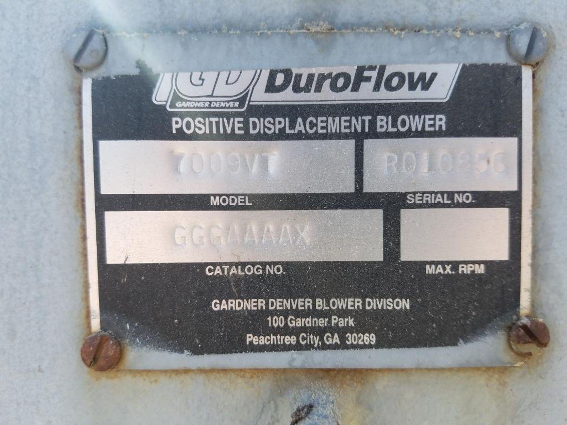 Gardner Denver Duroflow rotary positive blower - Image 5 of 7