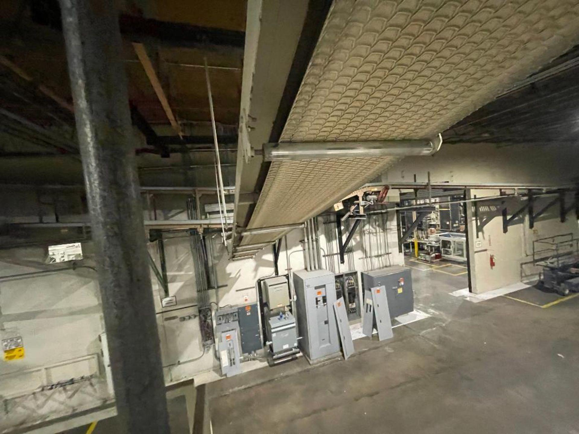 mild steel overhead belt conveyor - Image 6 of 12
