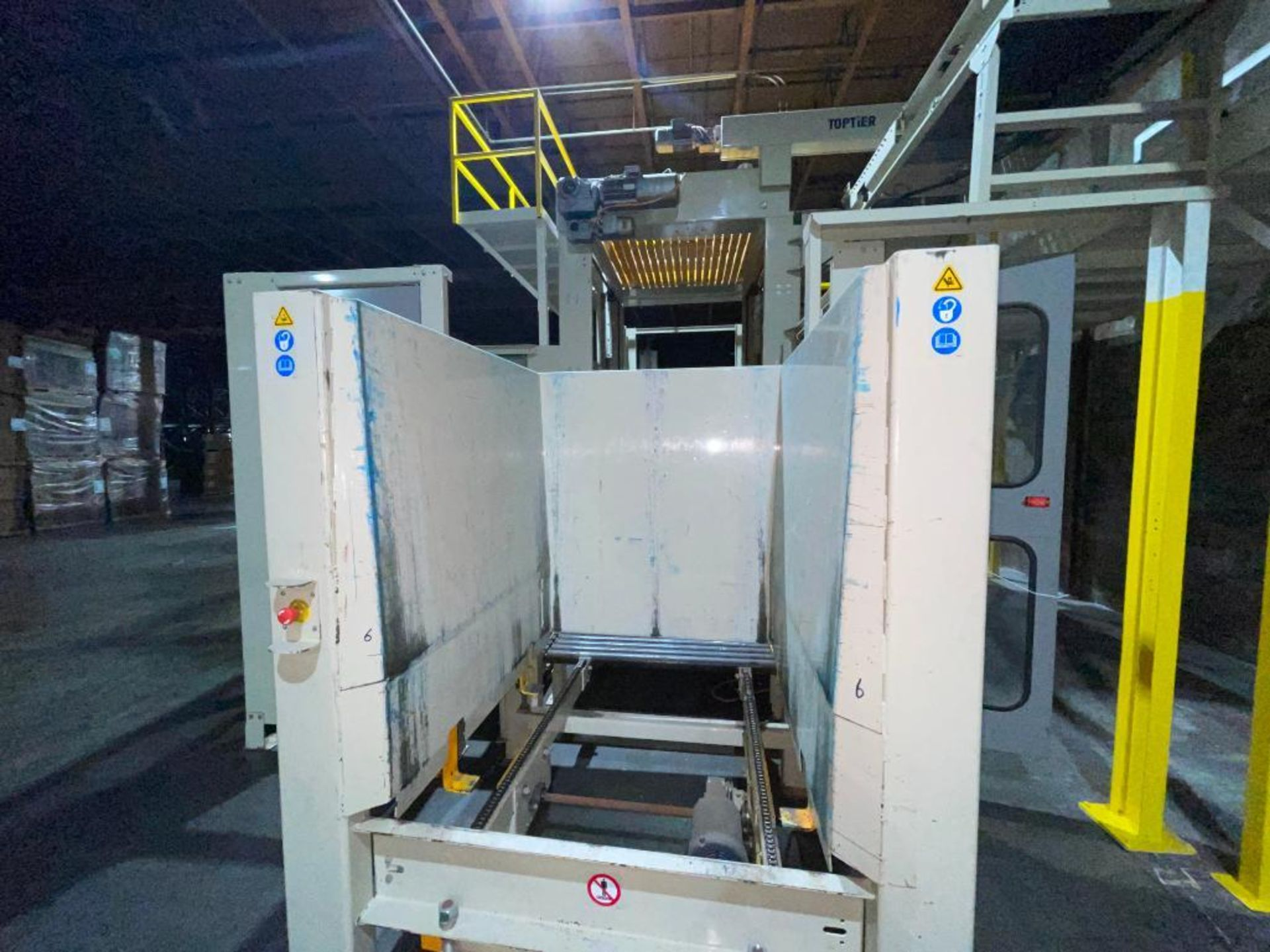 2013 TopTier downstacker, model DS with integrated TopTier pallet wrapper - Image 48 of 66