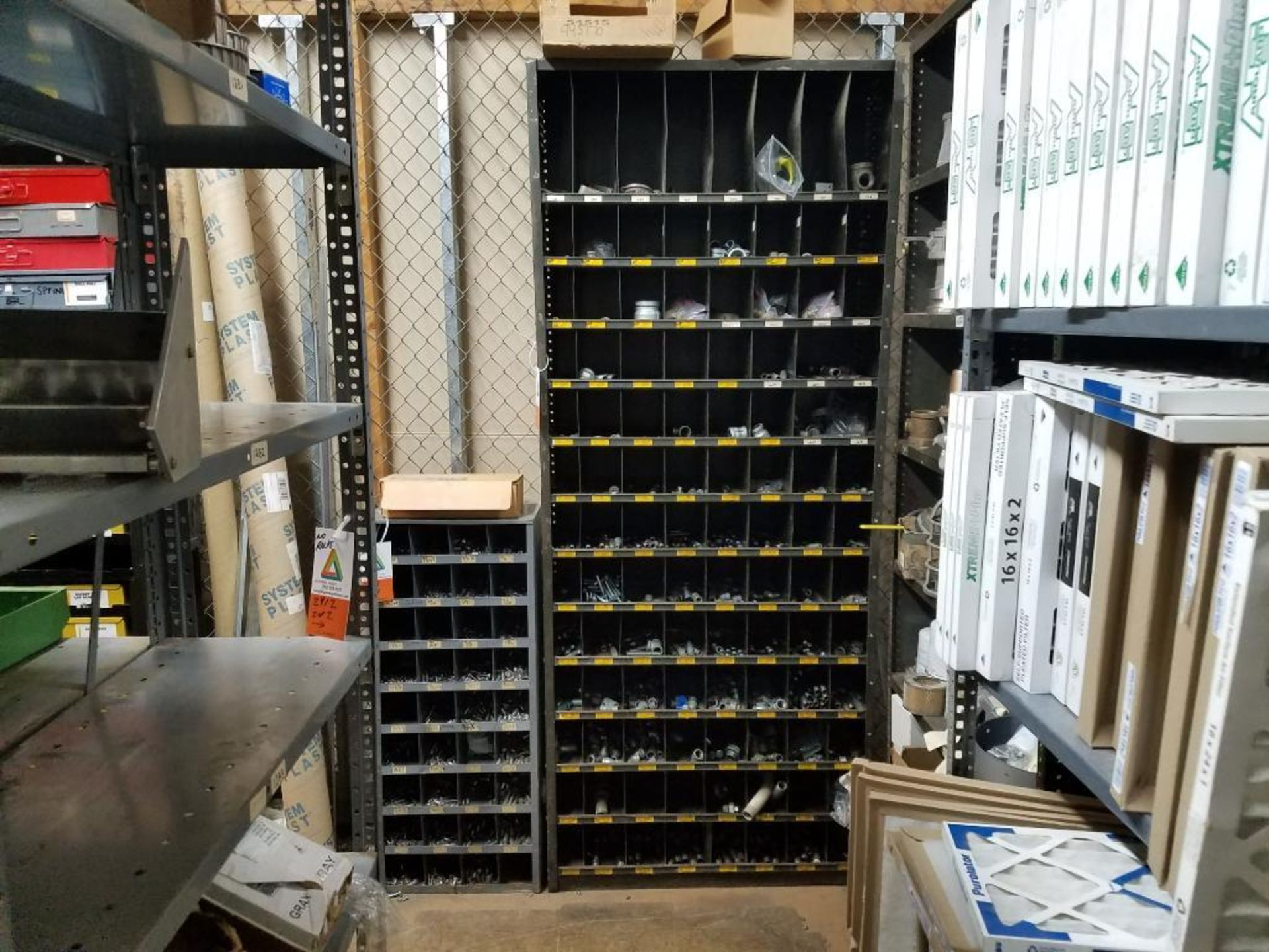 all shelving and storage units located in MRO room - Image 7 of 11