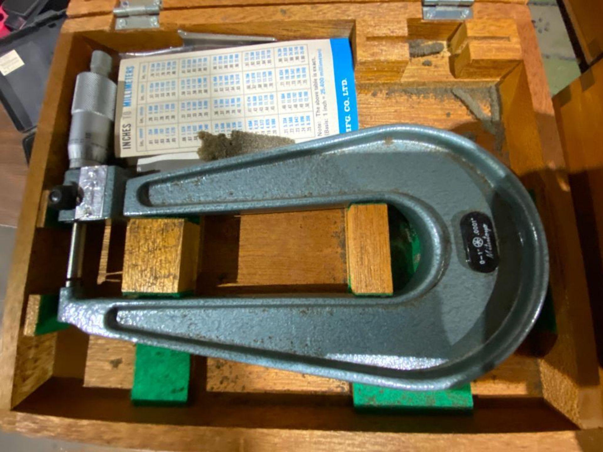 Mitutoyo analog micrometer - Image 2 of 3