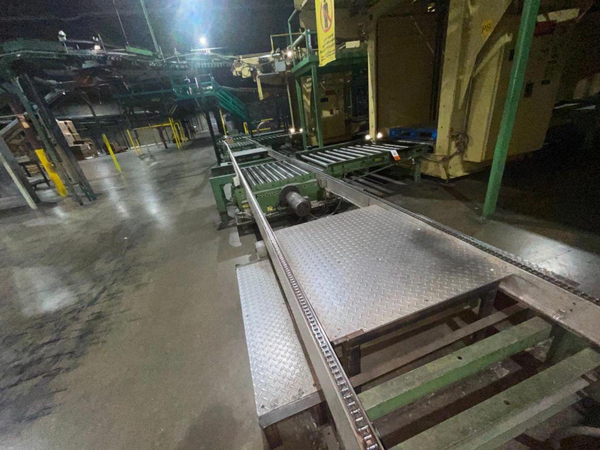 Buschman full pallet conveyor - Image 11 of 12