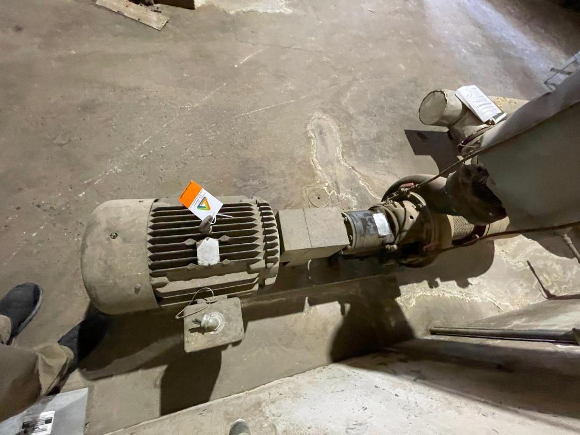 Ingersoll Dresser high temperature water pump - Image 7 of 9