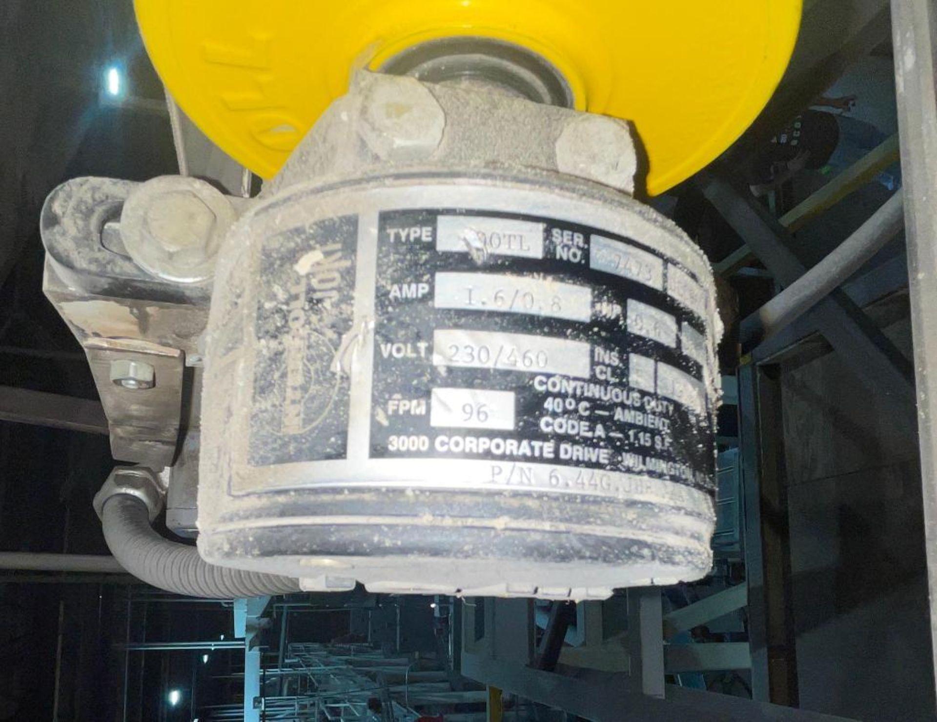 mild steel overhead belt conveyor - Image 3 of 10