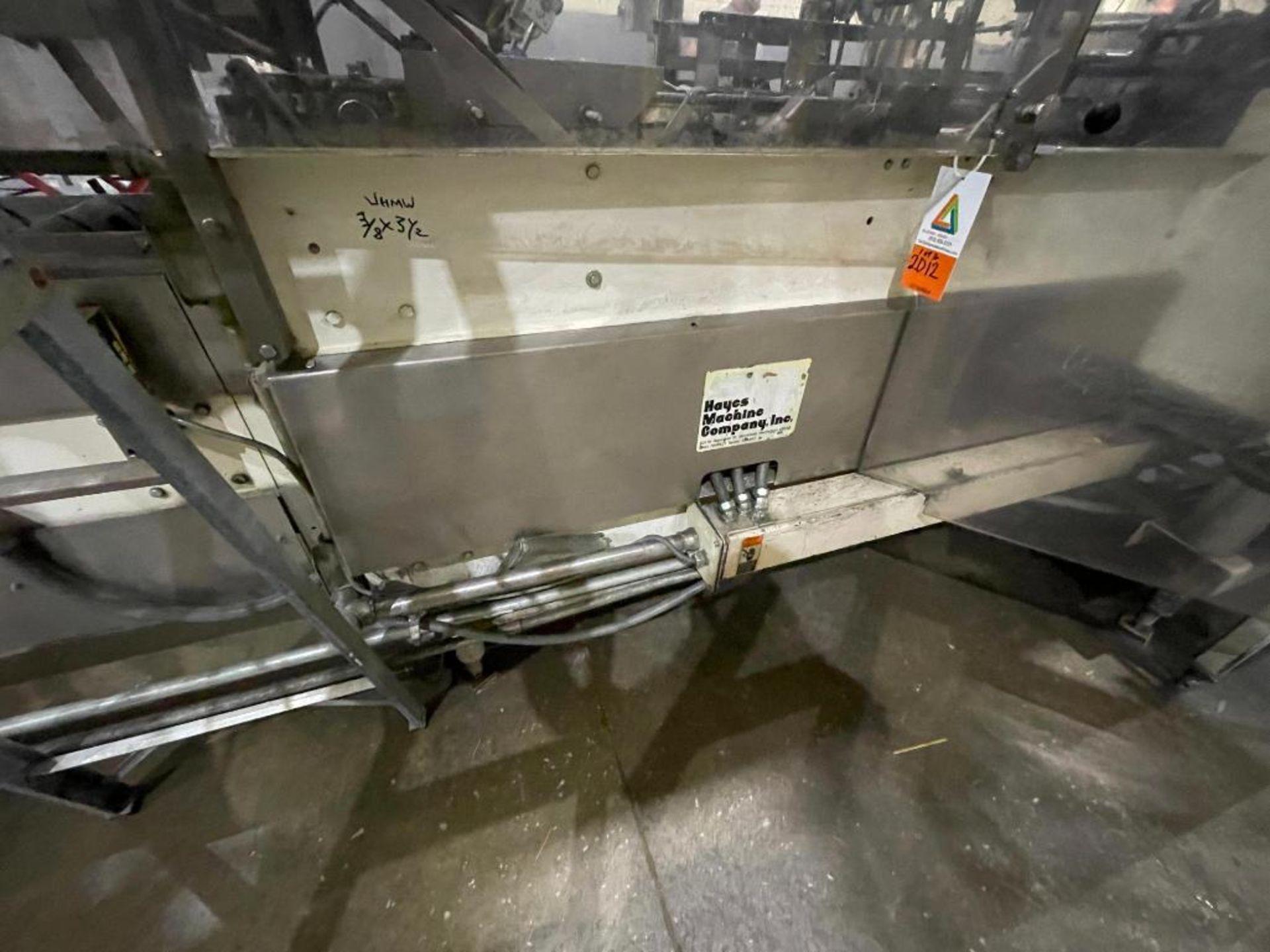 Hayes Machine Co. long goods cartoner, model 51BB - Image 44 of 64