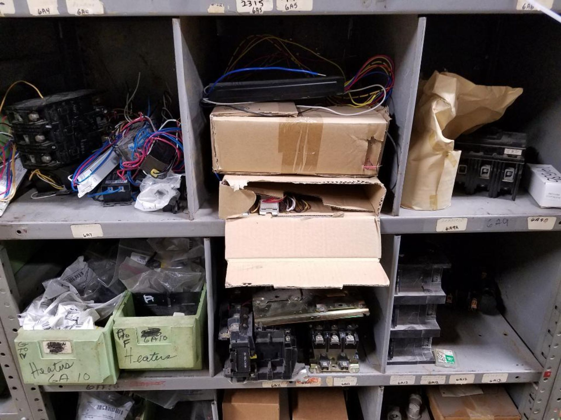 various electrical components, shelving not included - Image 3 of 5