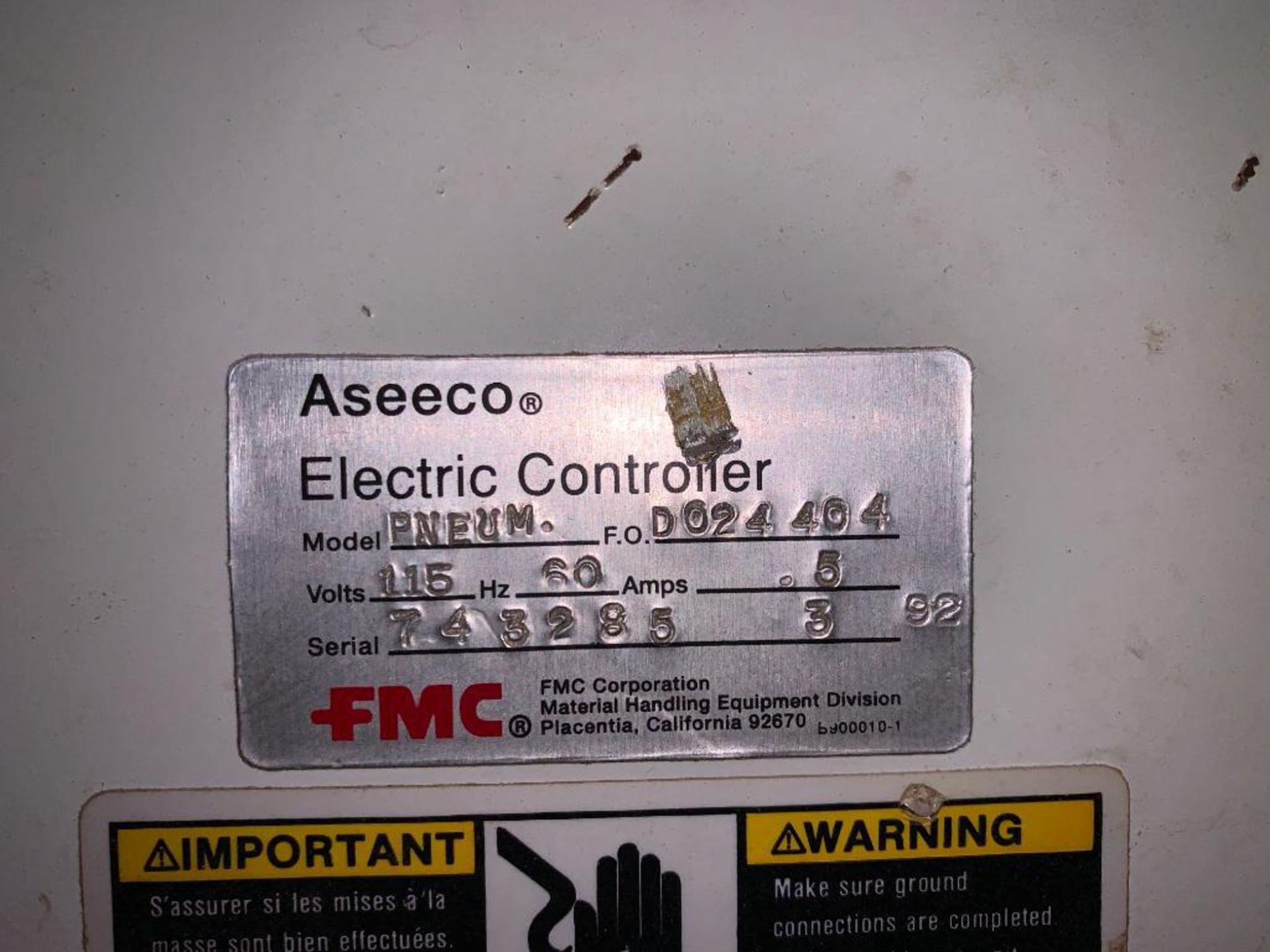 Aseeco mild steel cone bottom bulk storage bin - Image 11 of 23