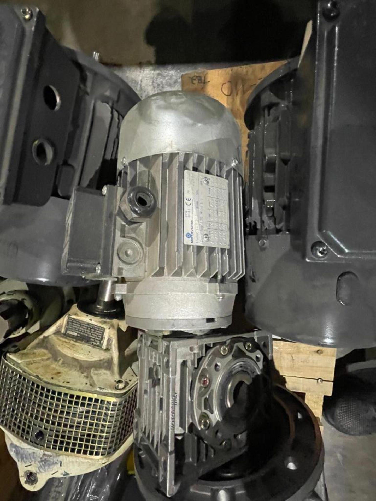 pallet of new and used motors and drives - Image 8 of 11