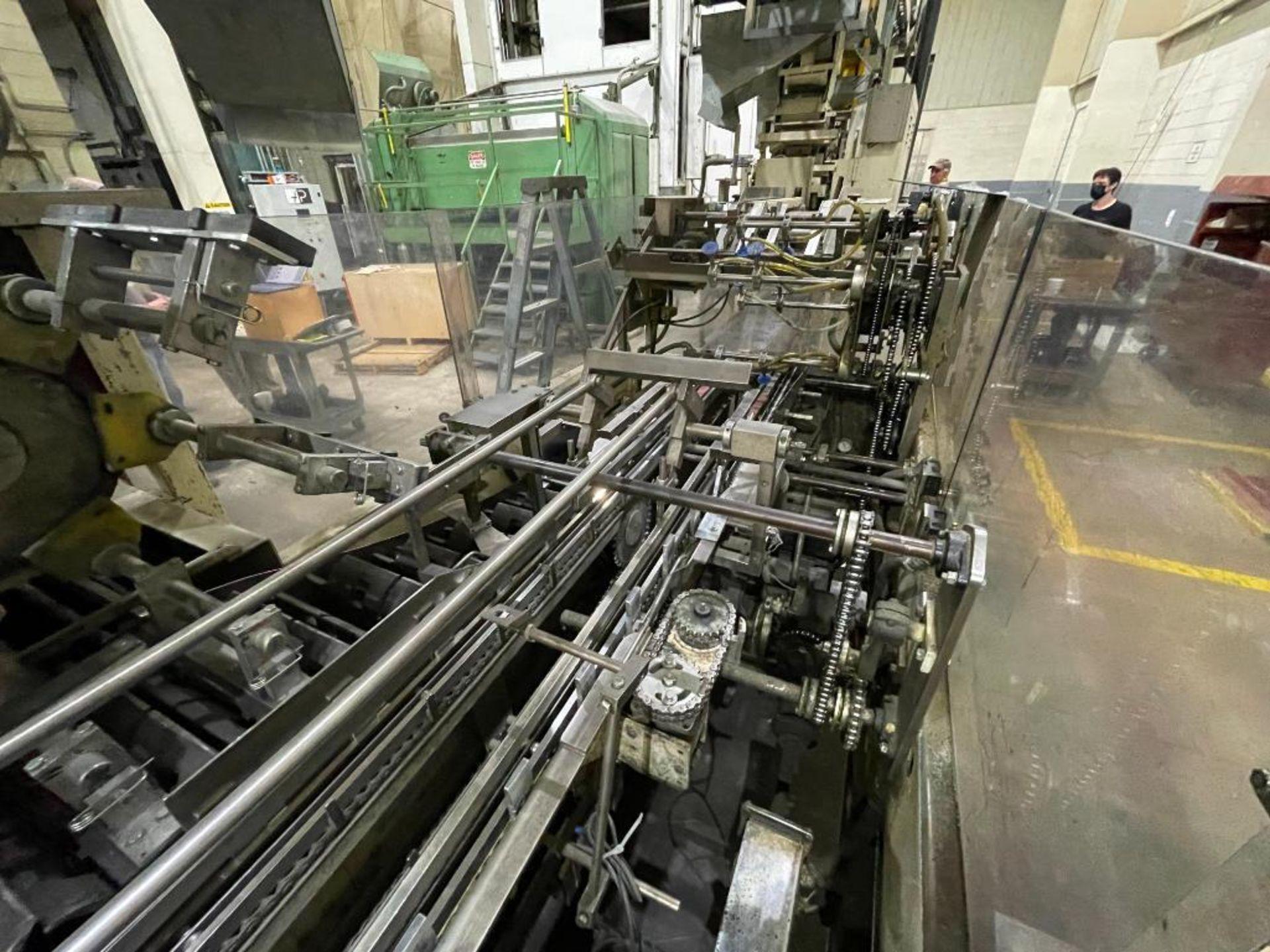 Hayes Machine Co. long goods cartoner, model 51BB - Image 8 of 64